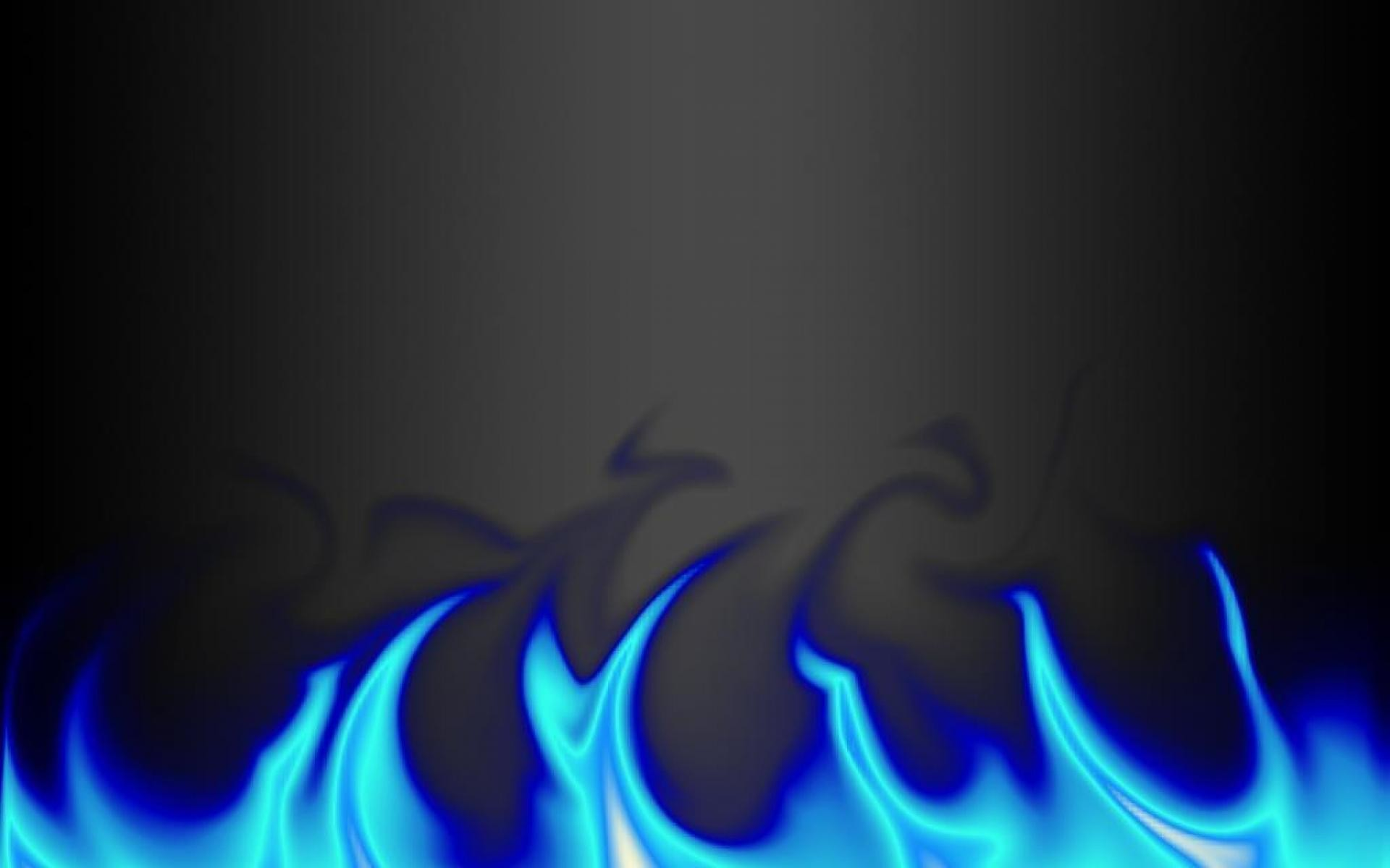 Res: 1920x1200, Wallpapers For > Blue Flame Wallpaper