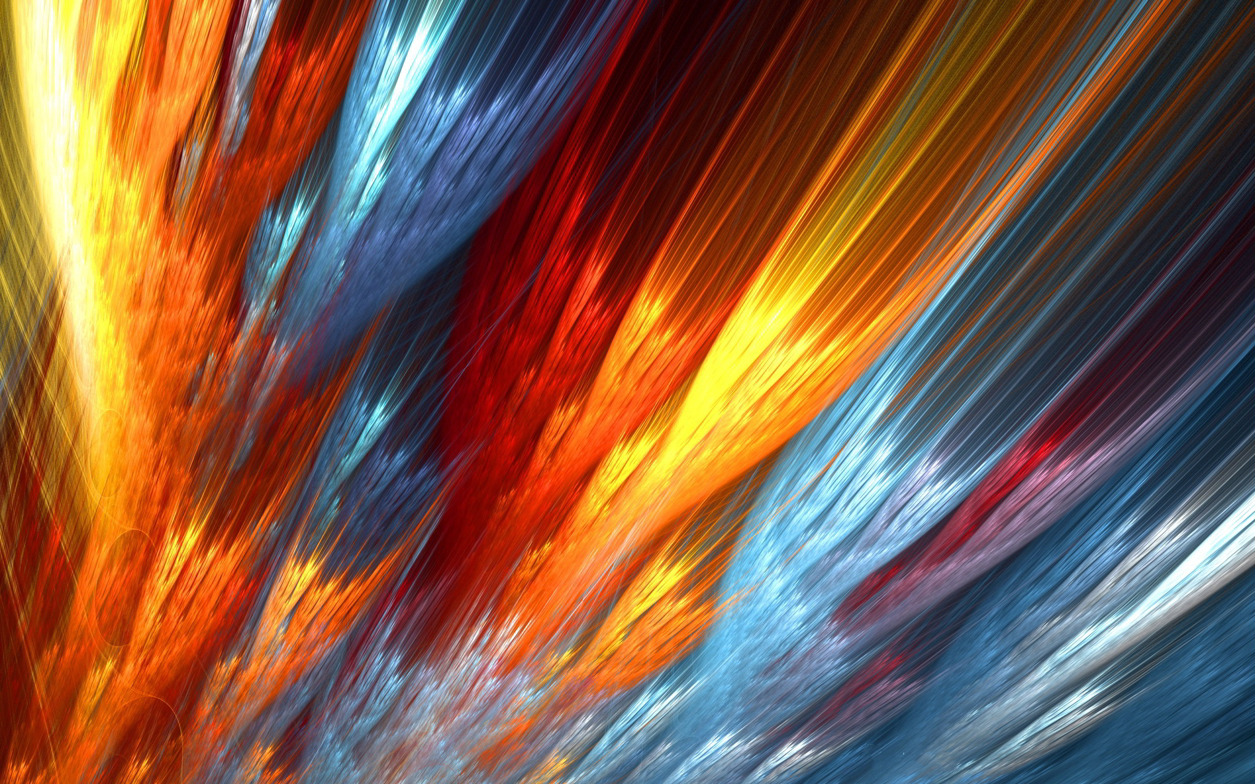 Res: 2560x1600, Abstract colorful fire wallpapers HD.