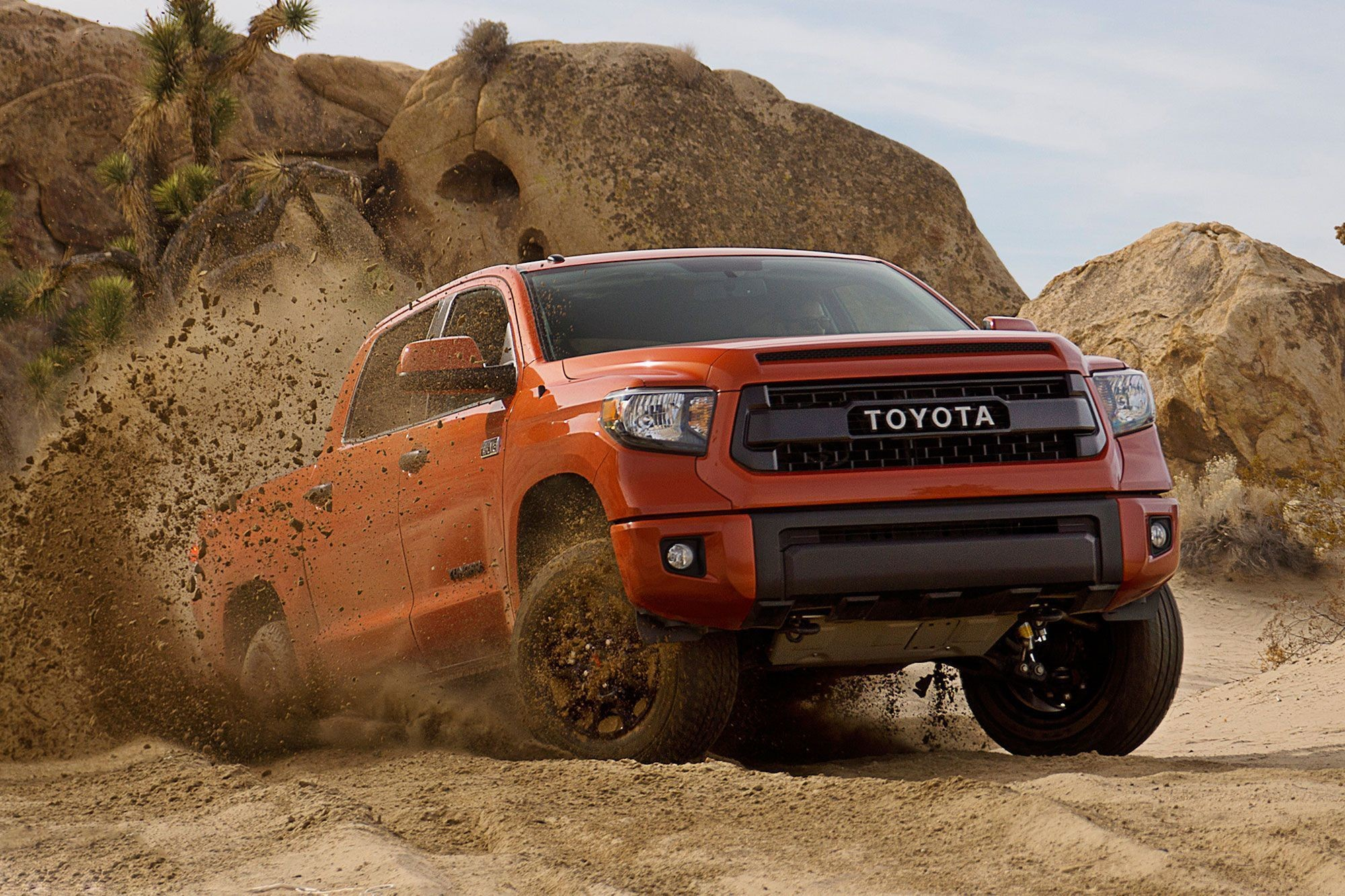 Res: 2000x1333, 2015 Toyota Tundra TRD Pro Series Wallpaper