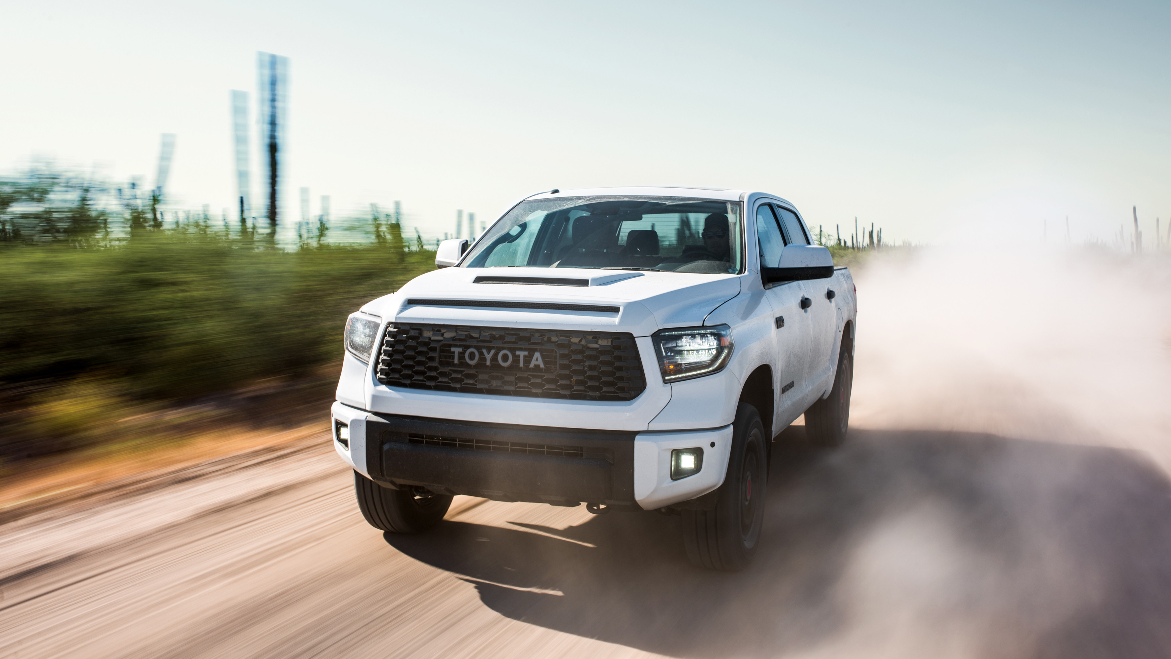Res: 3840x2160, 2019 Toyota Tundra TRD Pro CrewMax 4K