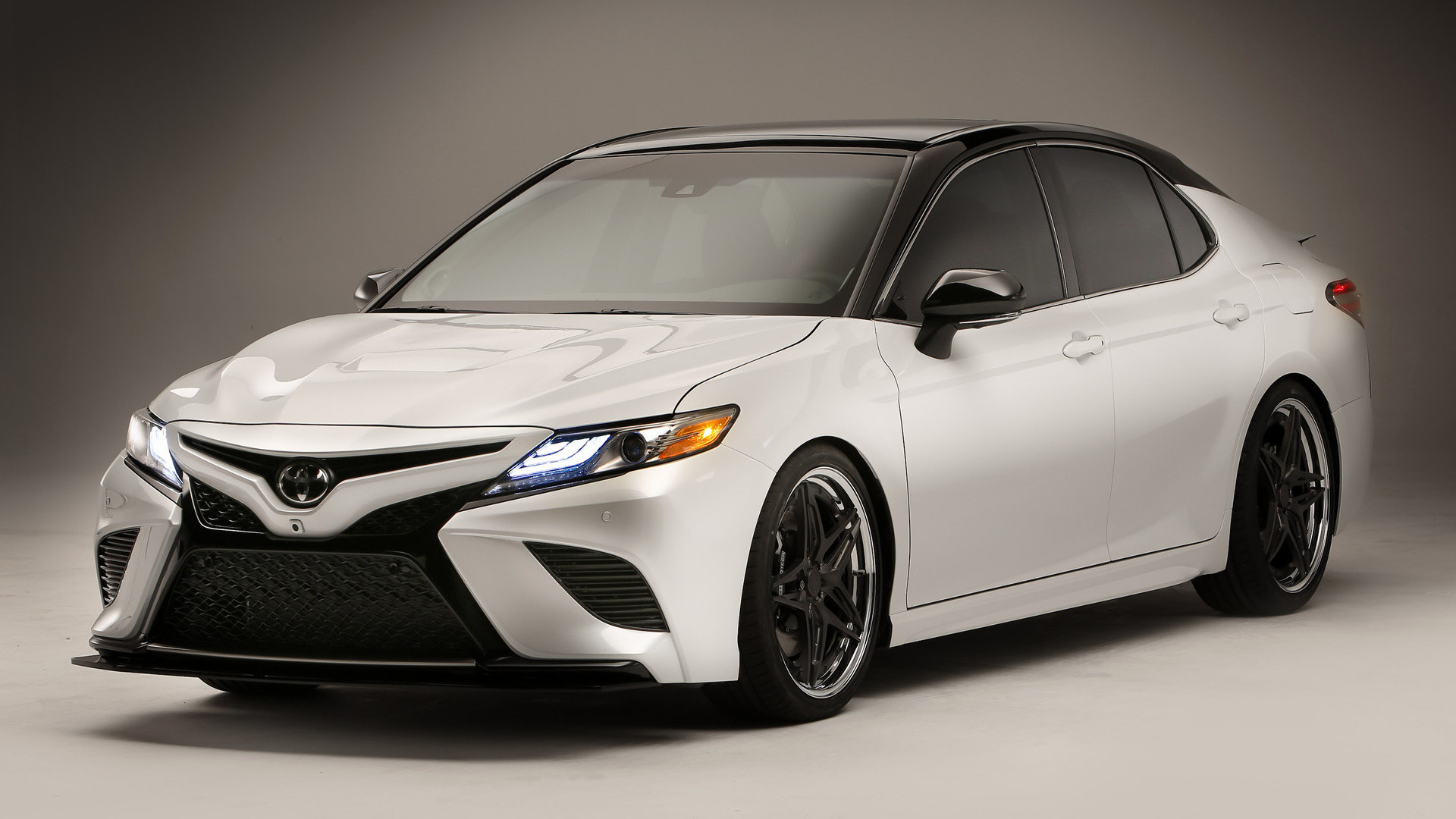 Res: 1920x1080, Vehicles - Toyota Camry Race Car White Car Car Wallpaper