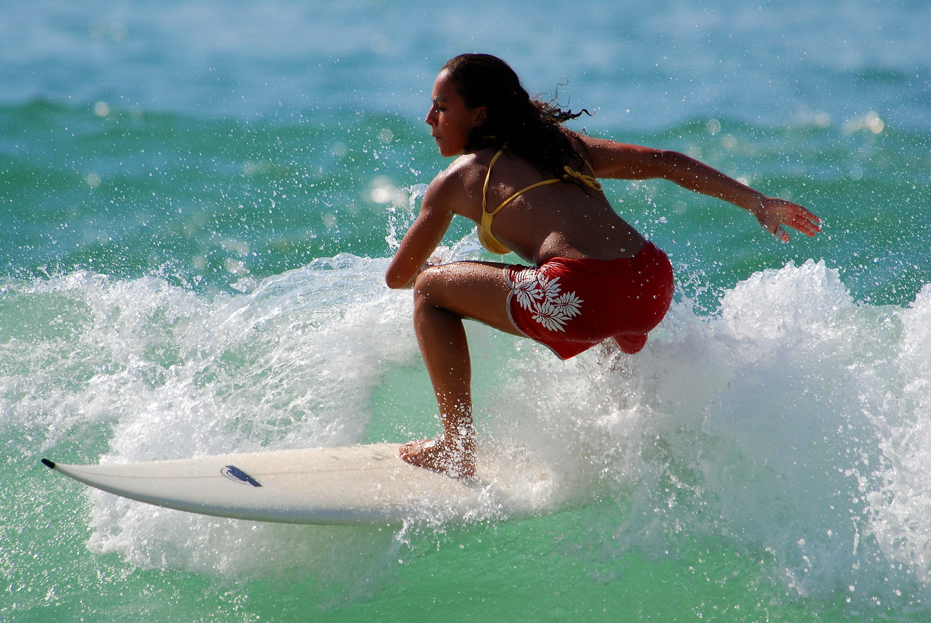 Res: 1920x1285, Surfer Girl Wallpaper 28105