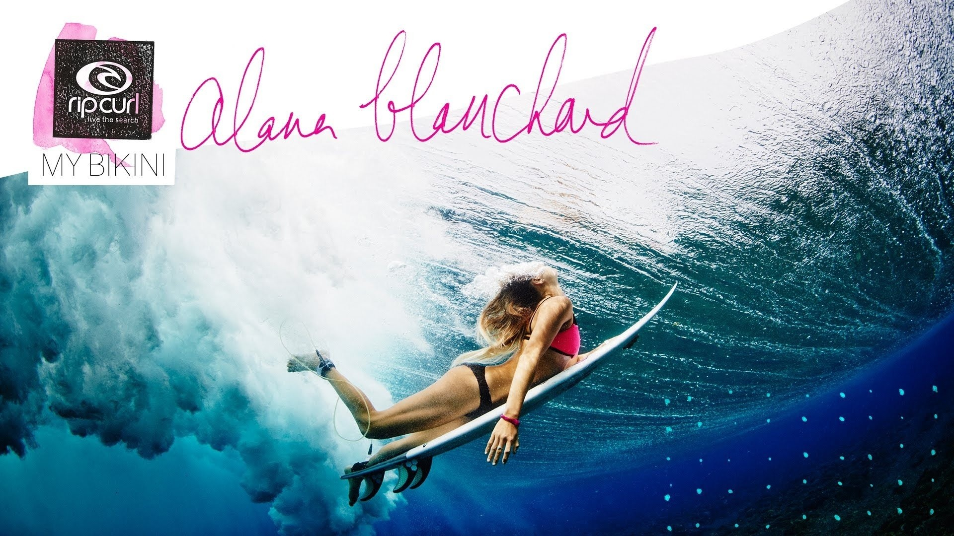 Res: 1920x1080, Motivational, Surfer, Surfing, Underwater, Surfer Girl, Alana Blanchard,  Alana Blanchard