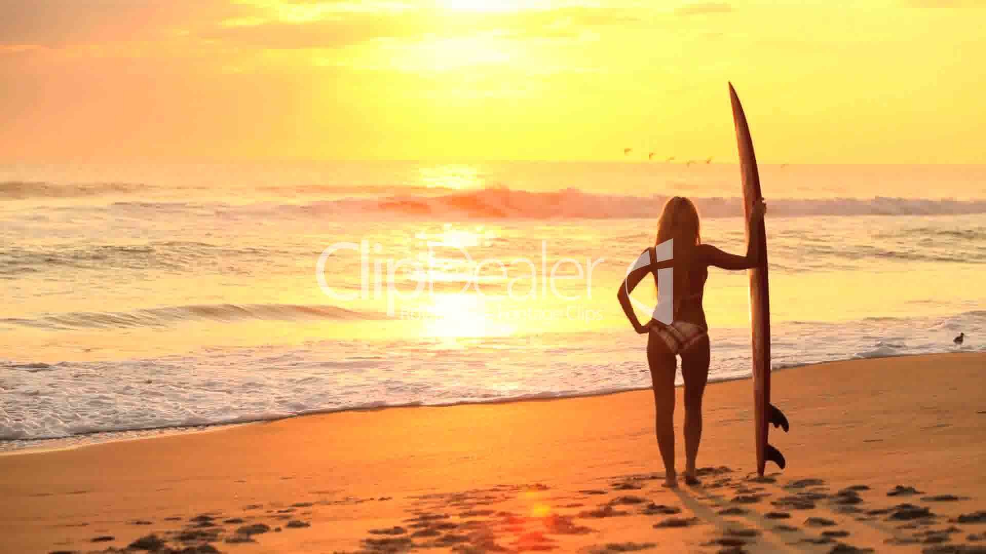 Res: 1920x1080, Clips. Surfer Girl ...