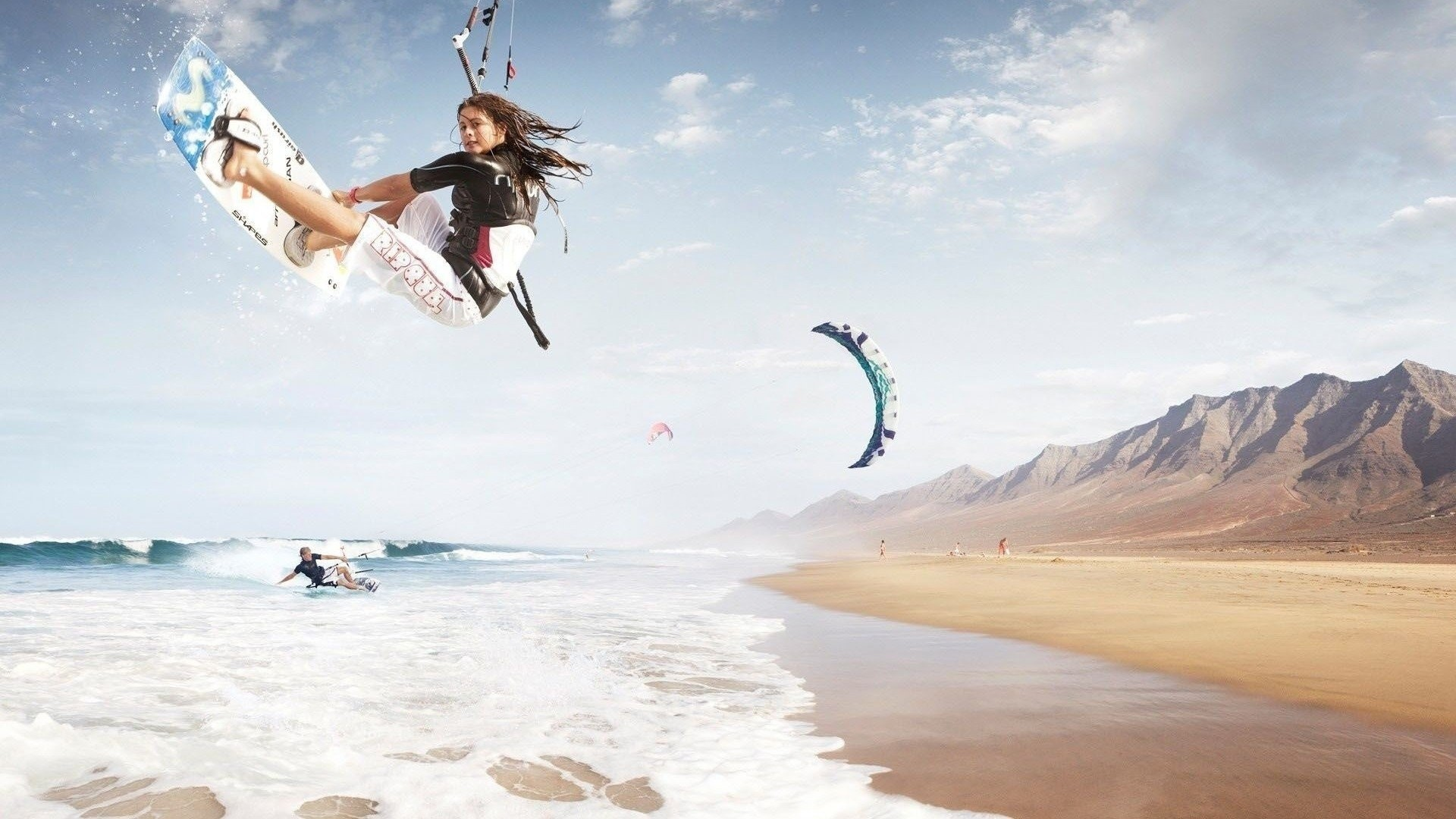 Res: 1920x1080, Surfing Girls Images HD Wallpapers