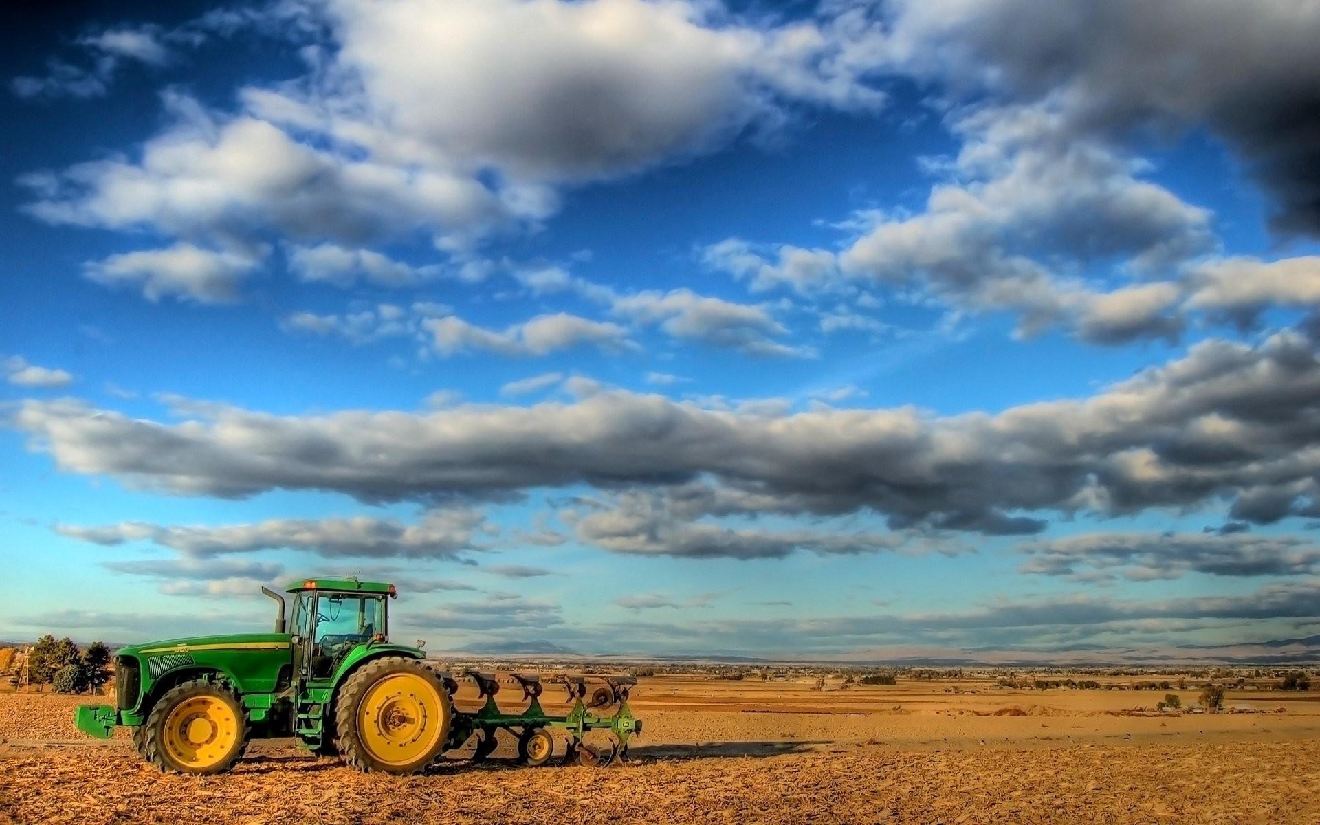 Res: 1920x1200, Vehicles - Tractor Landscape Farm Wallpaper