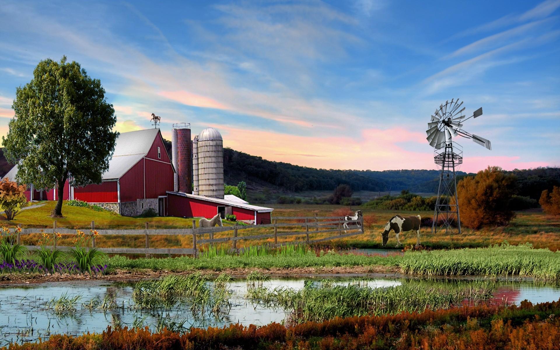 Res: 1920x1200, Farm HD Wallpapers