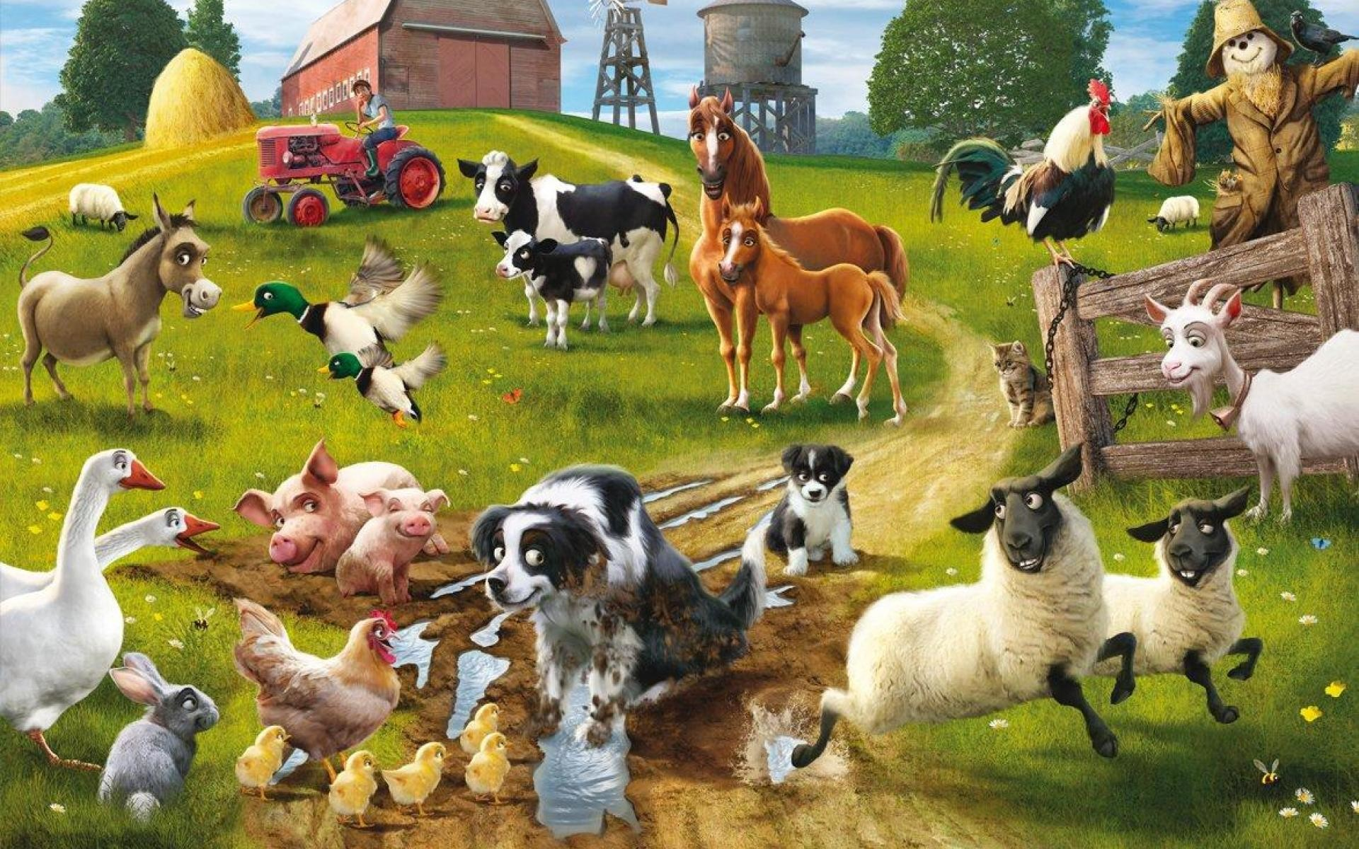 Res: 1920x1200, Farm Animals Wallpapers #52727