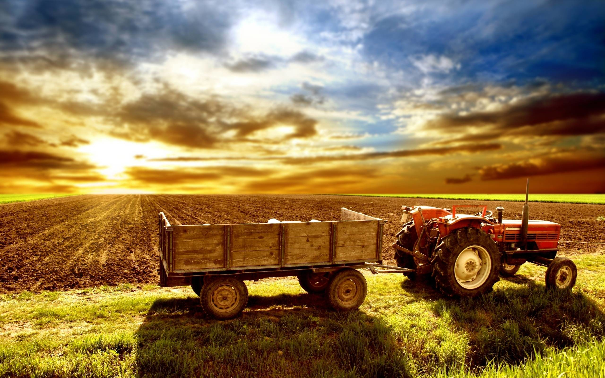 Res: 2560x1600, Tractor Wallpapers