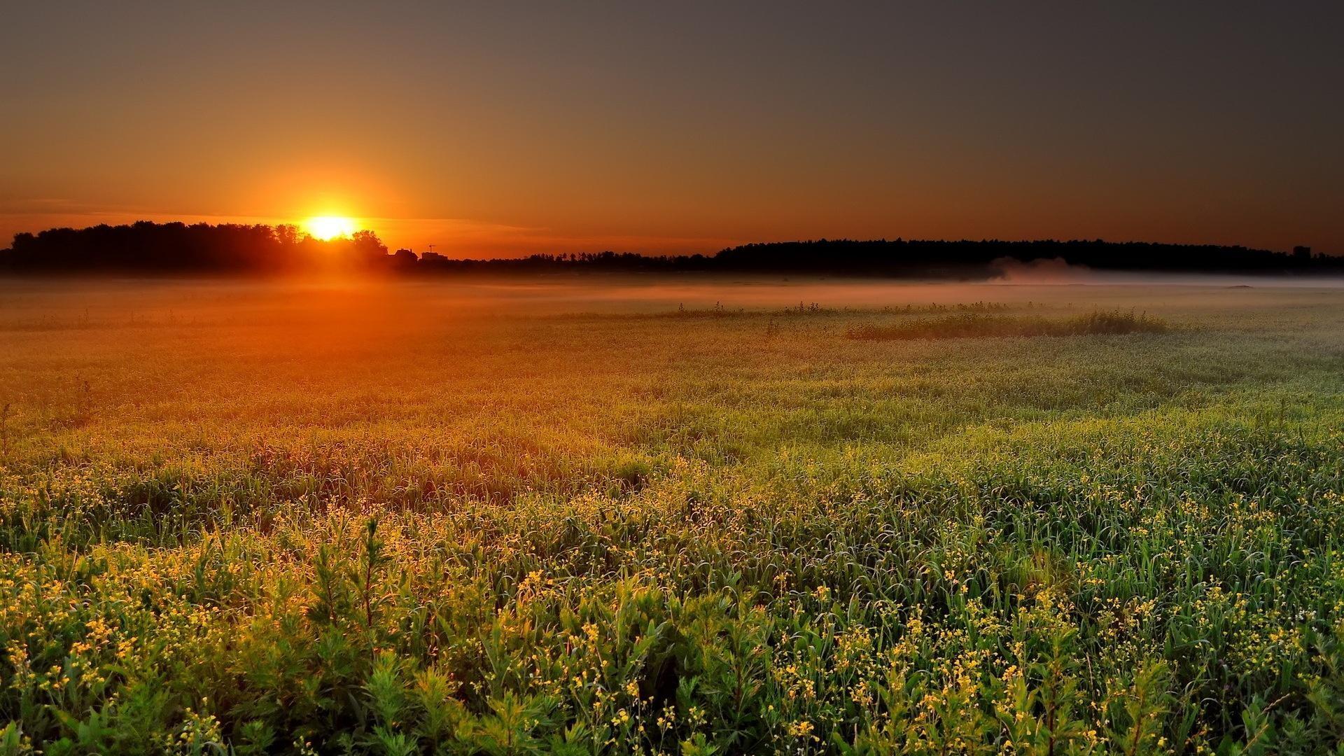 Res: 1920x1080,  farm sunset wallpapers full HD 1080p desktop backgrounds
