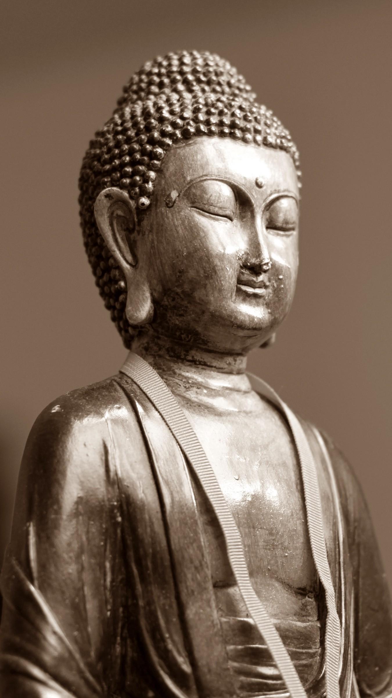 Res: 1350x2400,  Wallpaper buddha, meditation, east, figurine