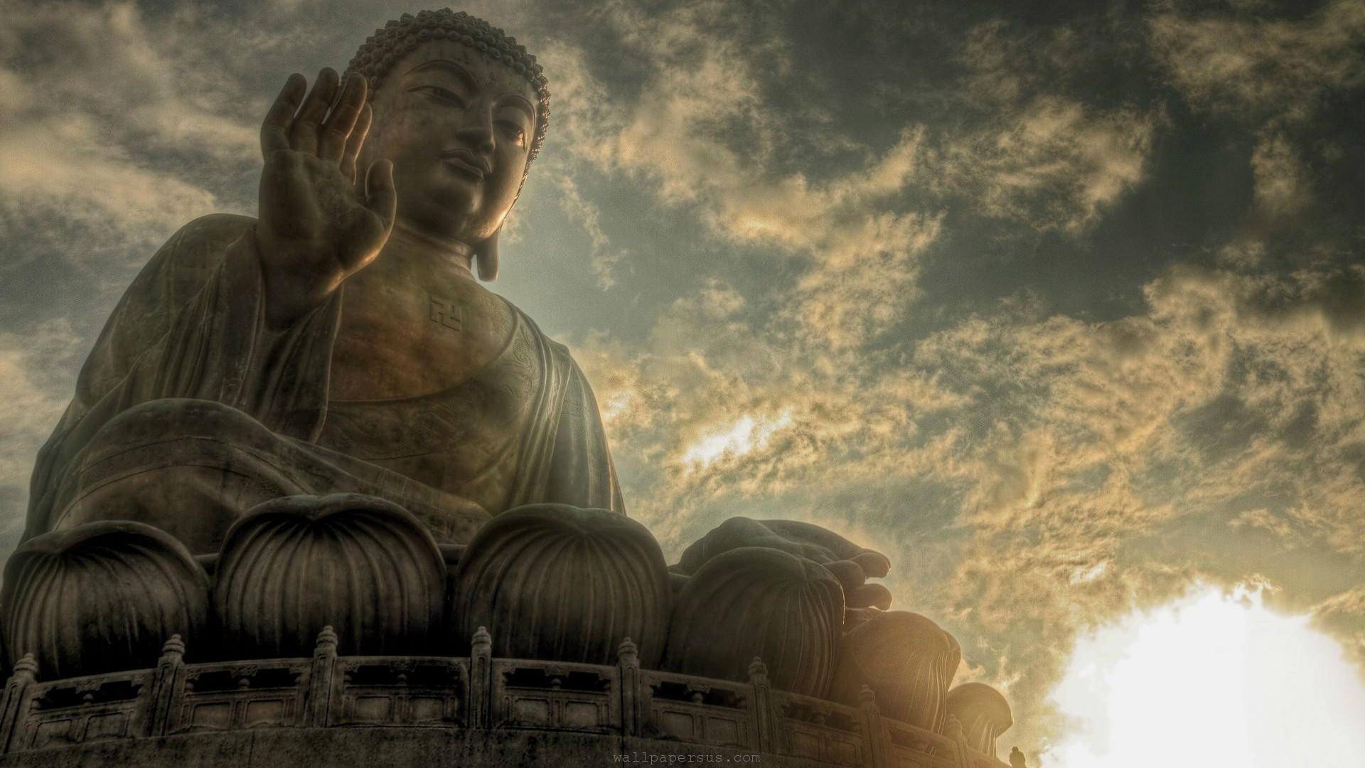 Res: 1920x1080,  Buddha Wallpaper
