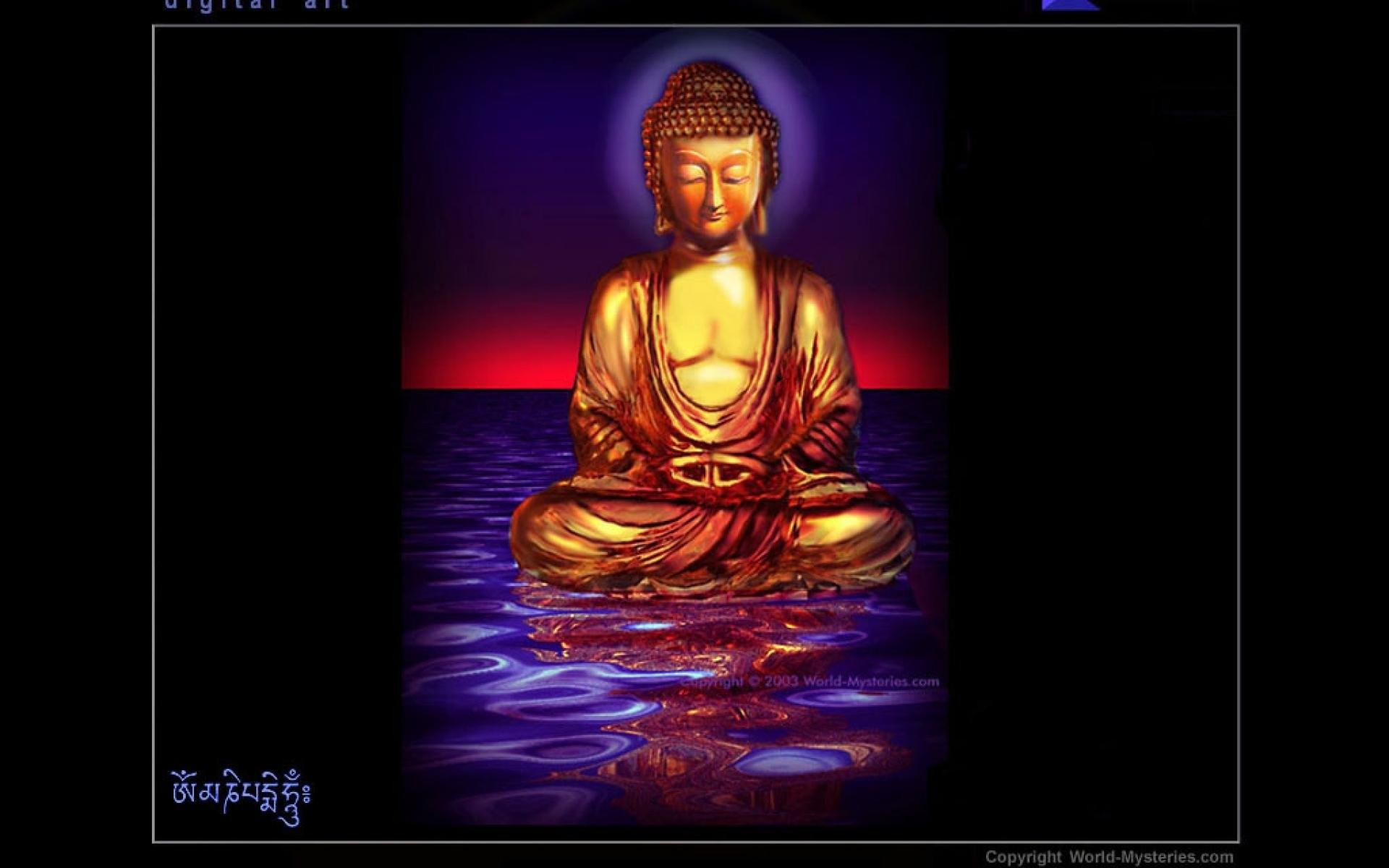 Res: 1920x1200, buddha animation