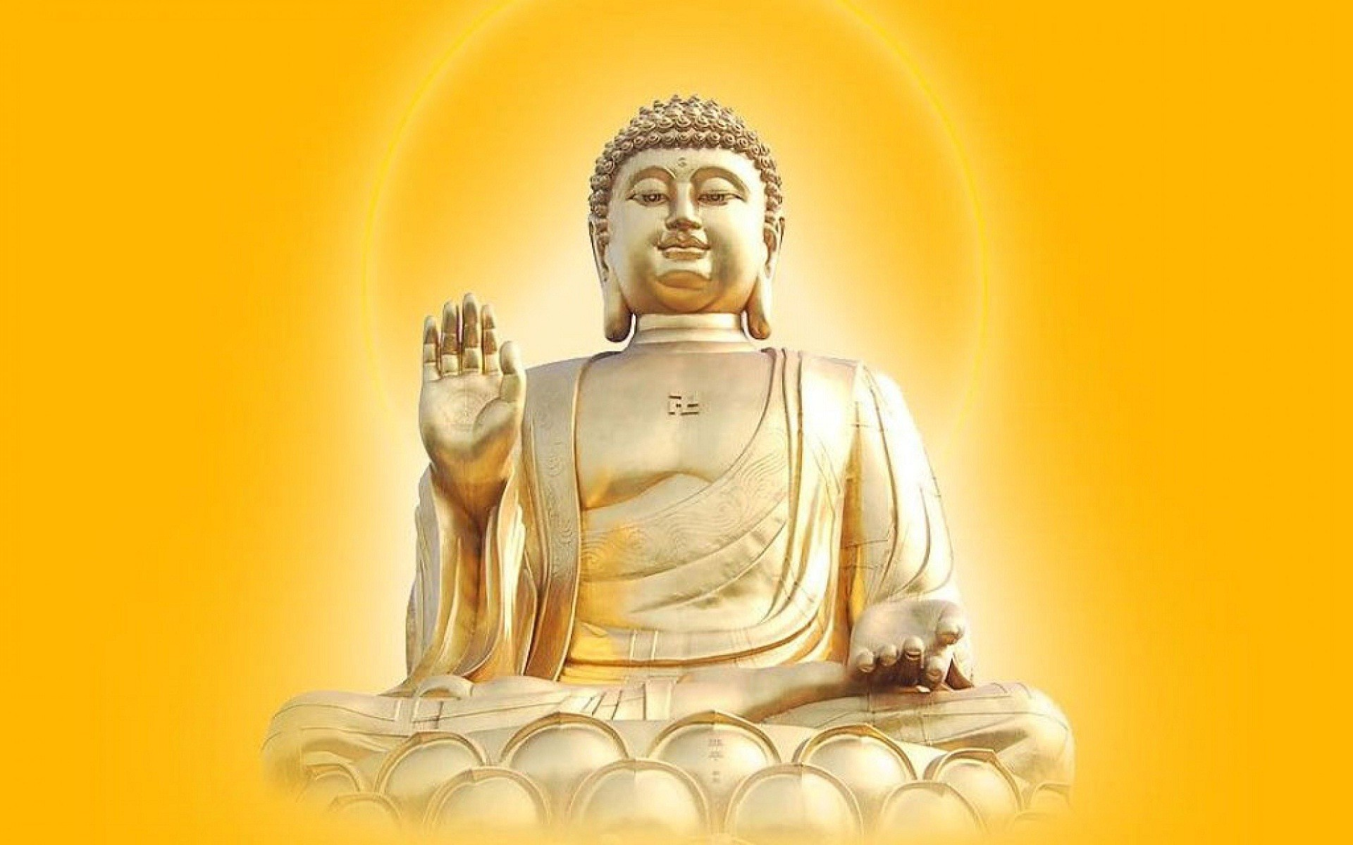 Res: 1920x1200, God Gautama Buddha Wallpaper