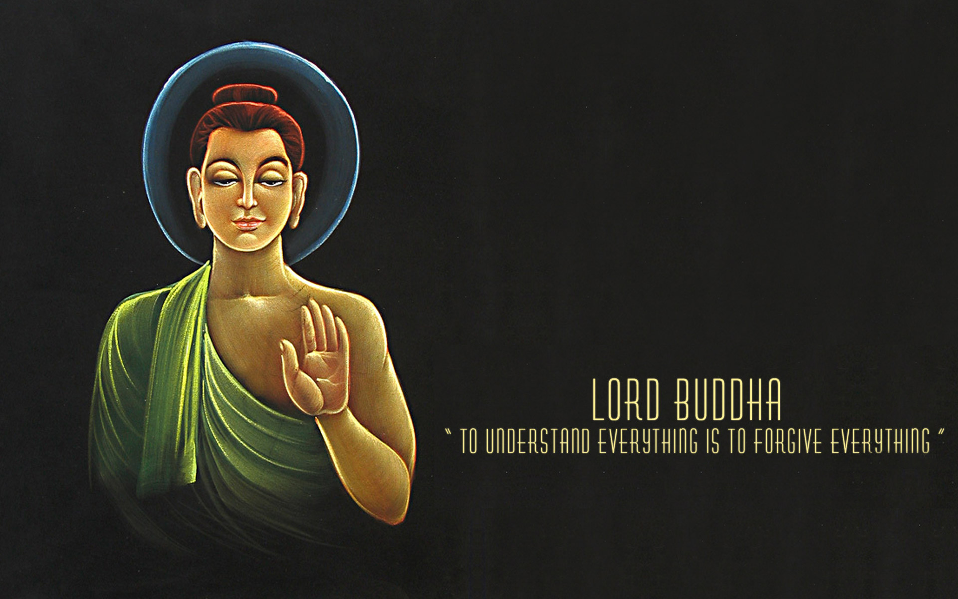 Res: 1920x1200, Forgive Quotes From Buddha