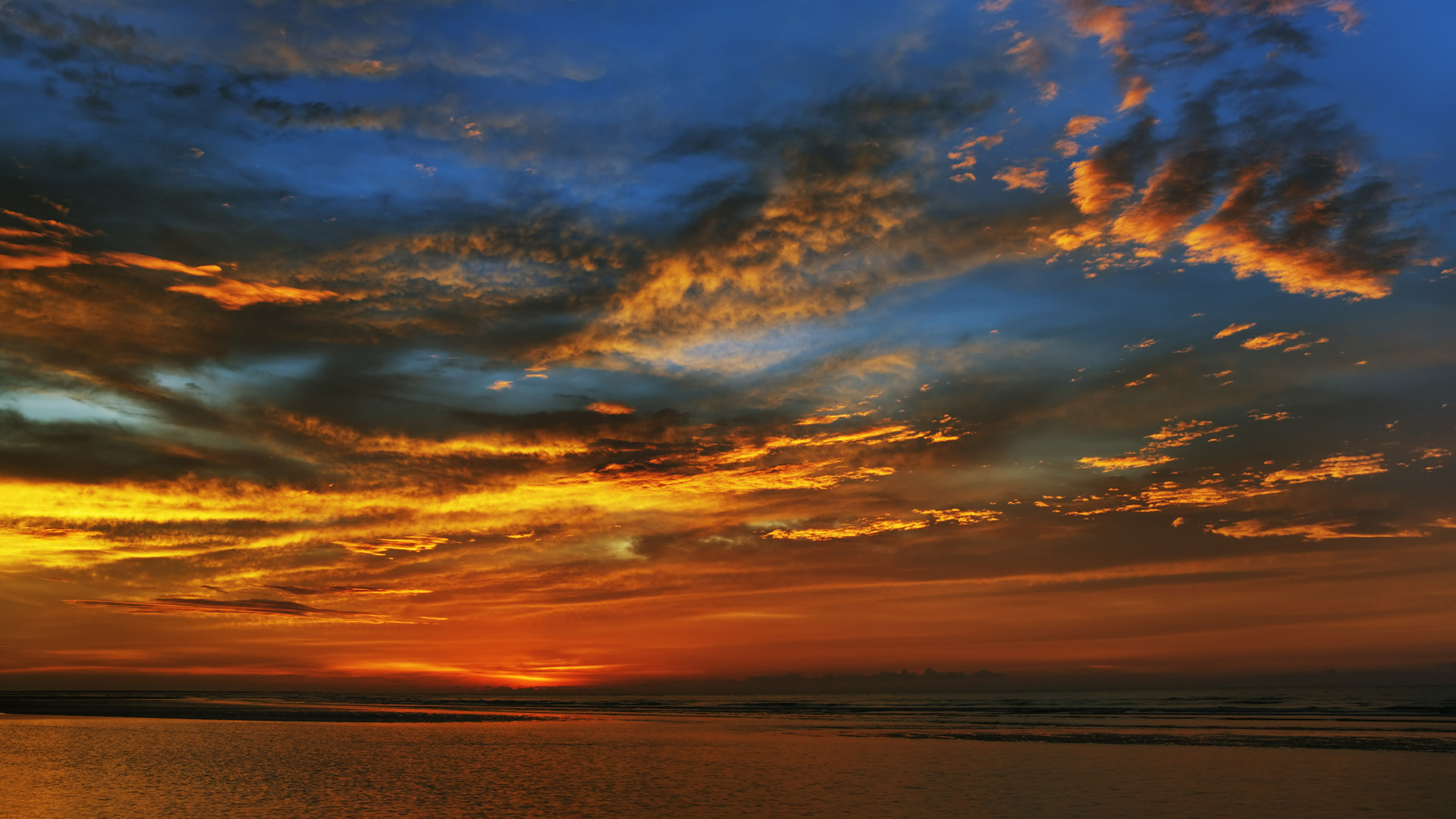 Res: 1920x1080, Image: Summer Sunset wallpapers and stock photos. Â«