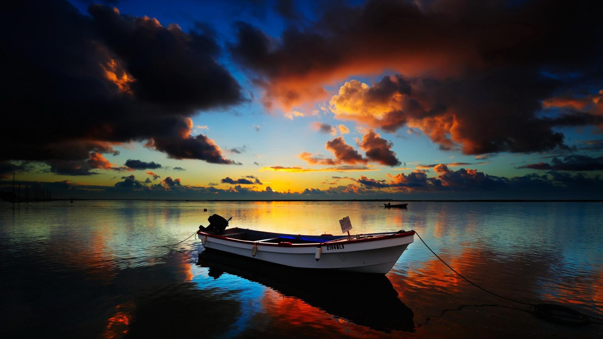Res: 1920x1080, Summer Sunset. Wallpaper: Summer Sunset