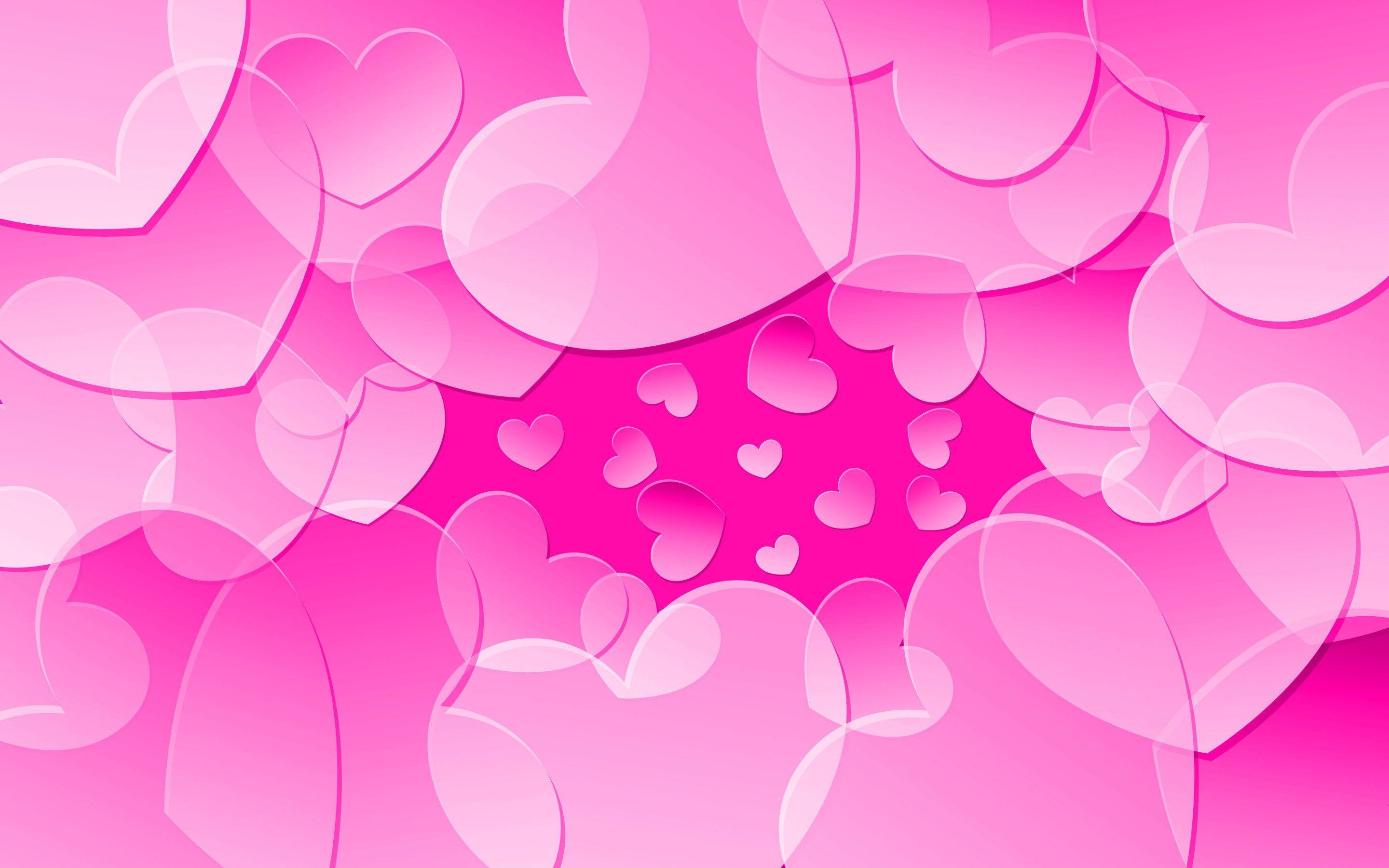 Res: 2880x1800, Most Downloaded Pink Hearts Wallpapers - Full HD wallpaper search