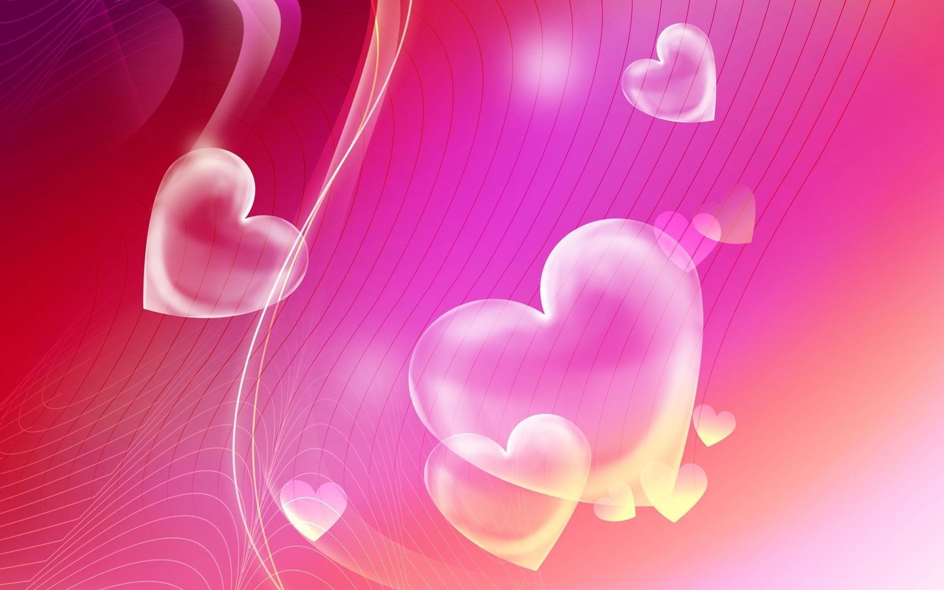 Res: 1920x1200,  Wallpapers For > Pretty Pink Heart Backgrounds