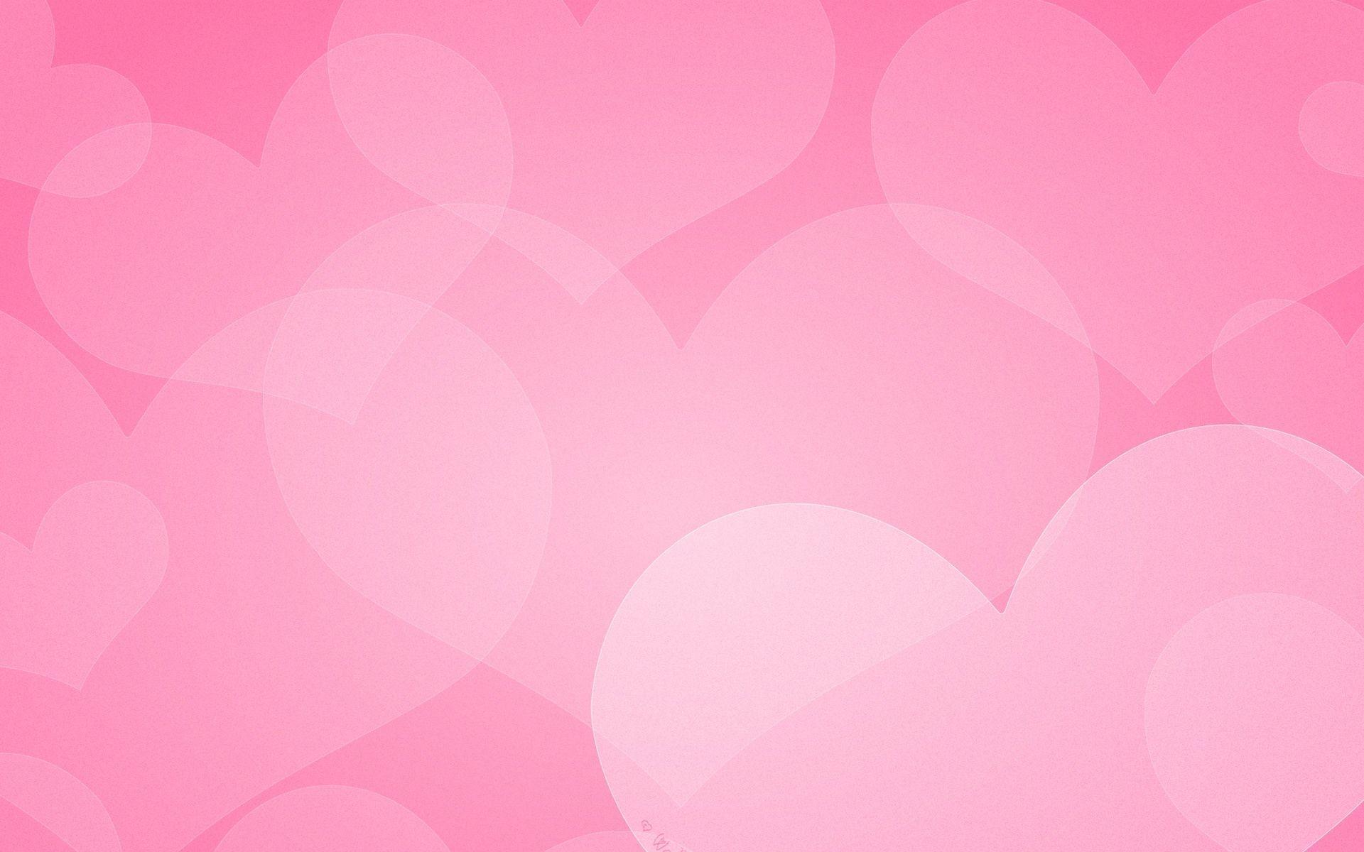 Res: 1920x1200, Wallpaper · Pink Hearts Wallpaper