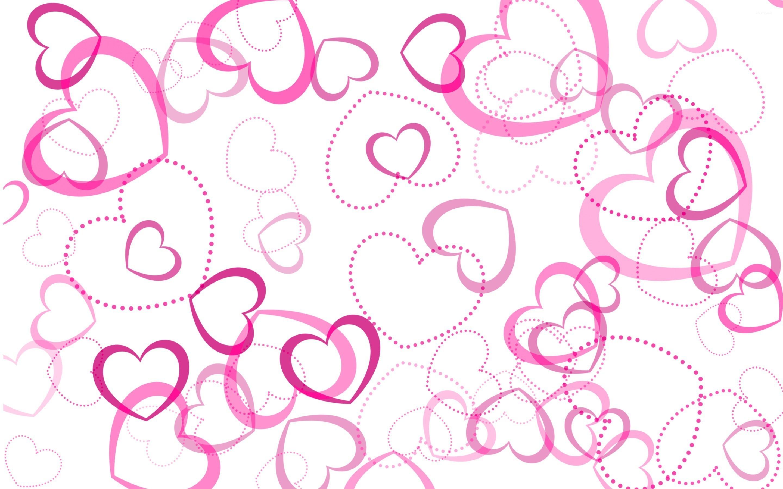 Res: 2880x1800, Pink hearts wallpaper