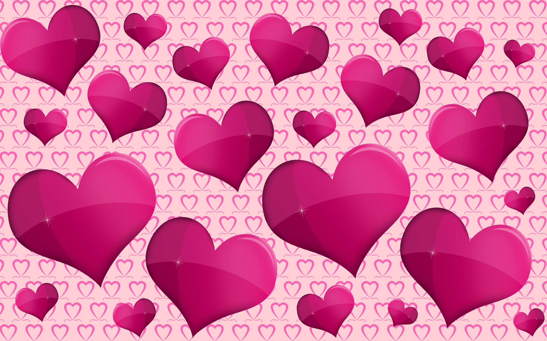 Res: 2880x1800, Künstlerisch - Herz Künstlerisch Pink Lila Wallpaper