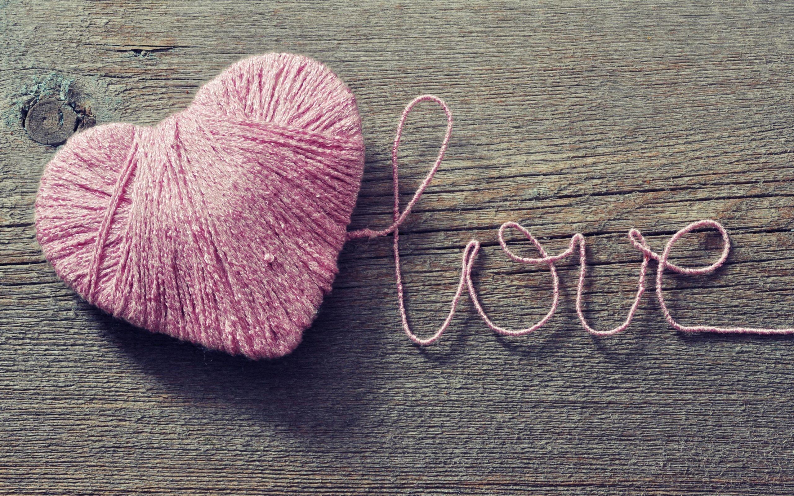 Res: 2560x1600, pink heart wallpaper