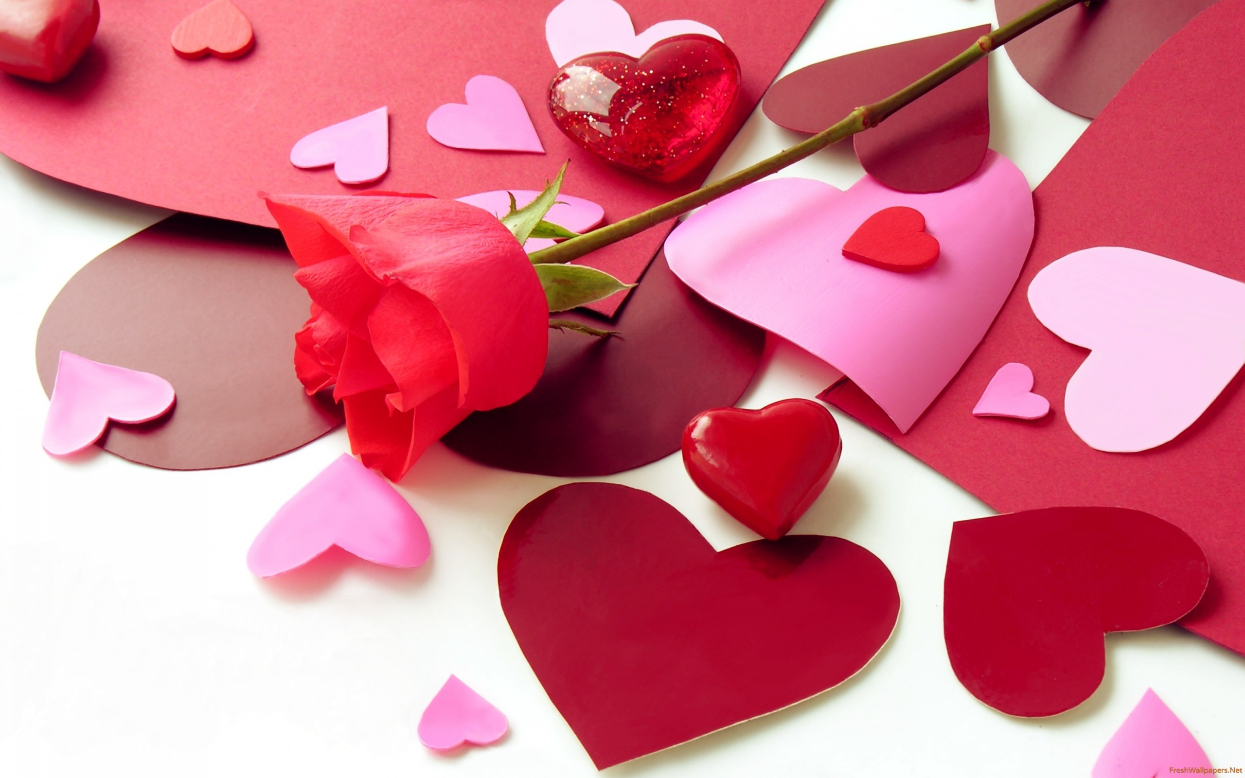 Res: 2560x1600, ... pink heart wallpapers-red-symbols-of-love ...