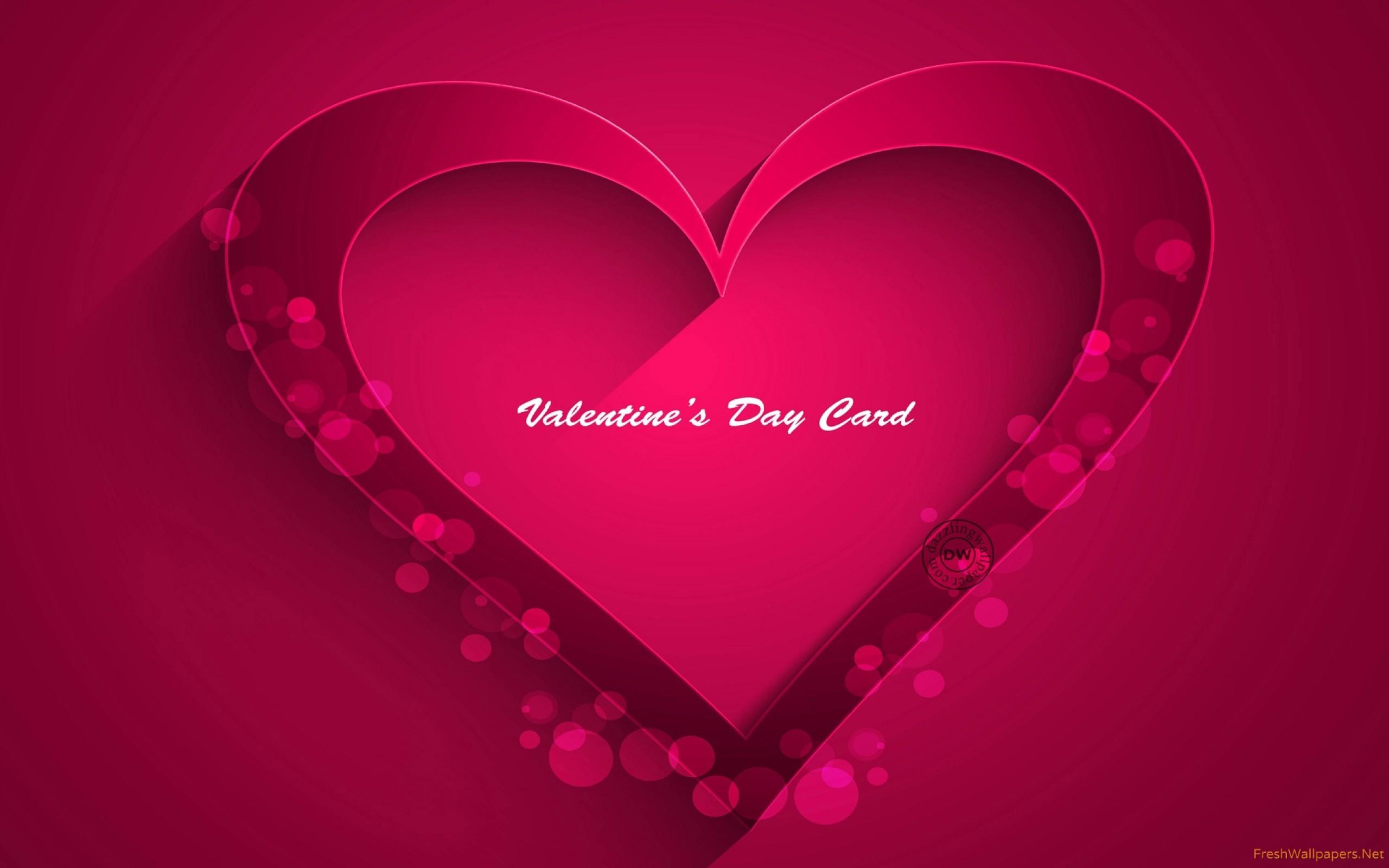 Res: 2560x1600, pink-heart- Wallpaper: