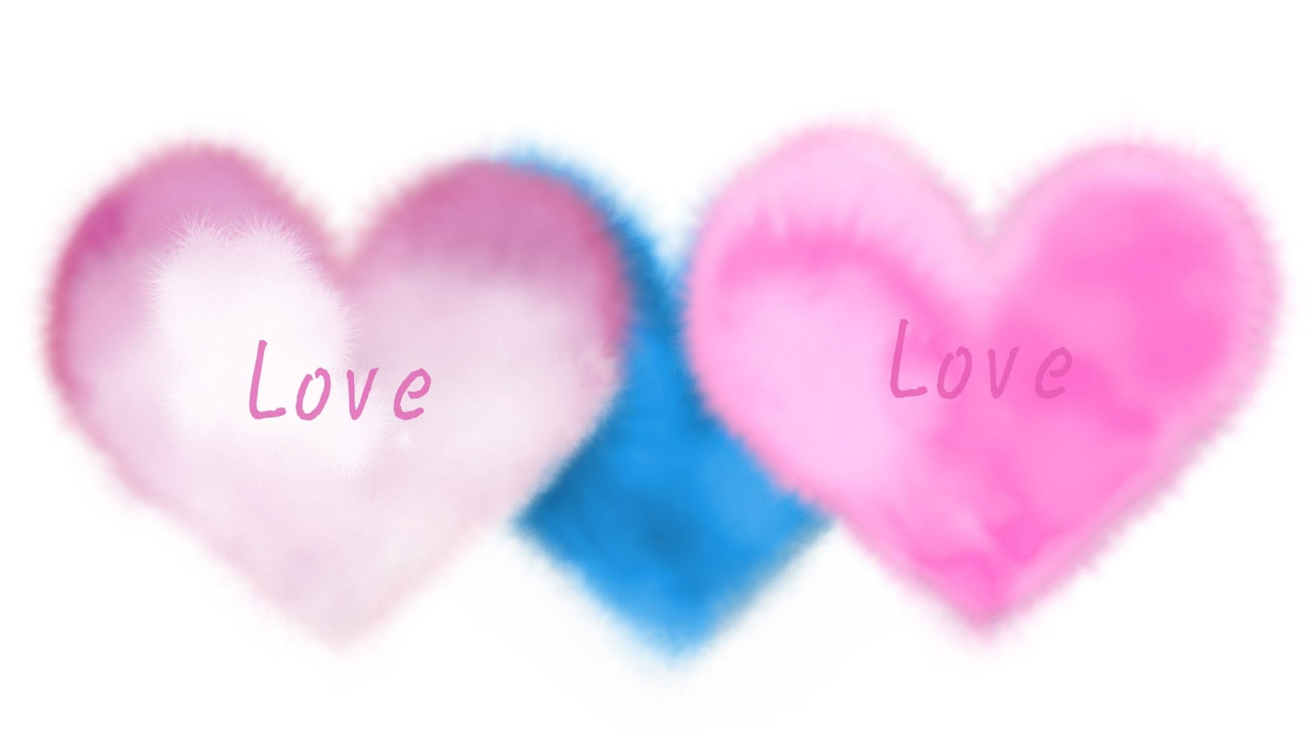 Res: 2560x1440,  Blue Heart Wallpaper (70+ images)