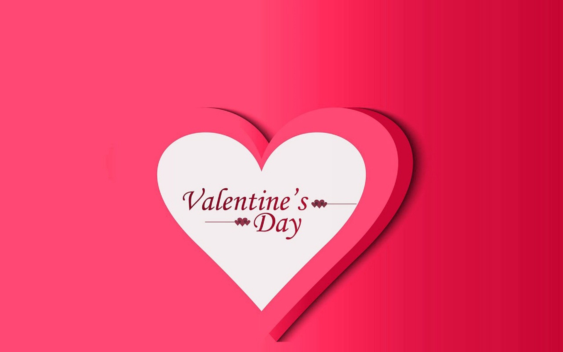 Res: 1920x1200, Valentines day propose pink heart wallpapers and images