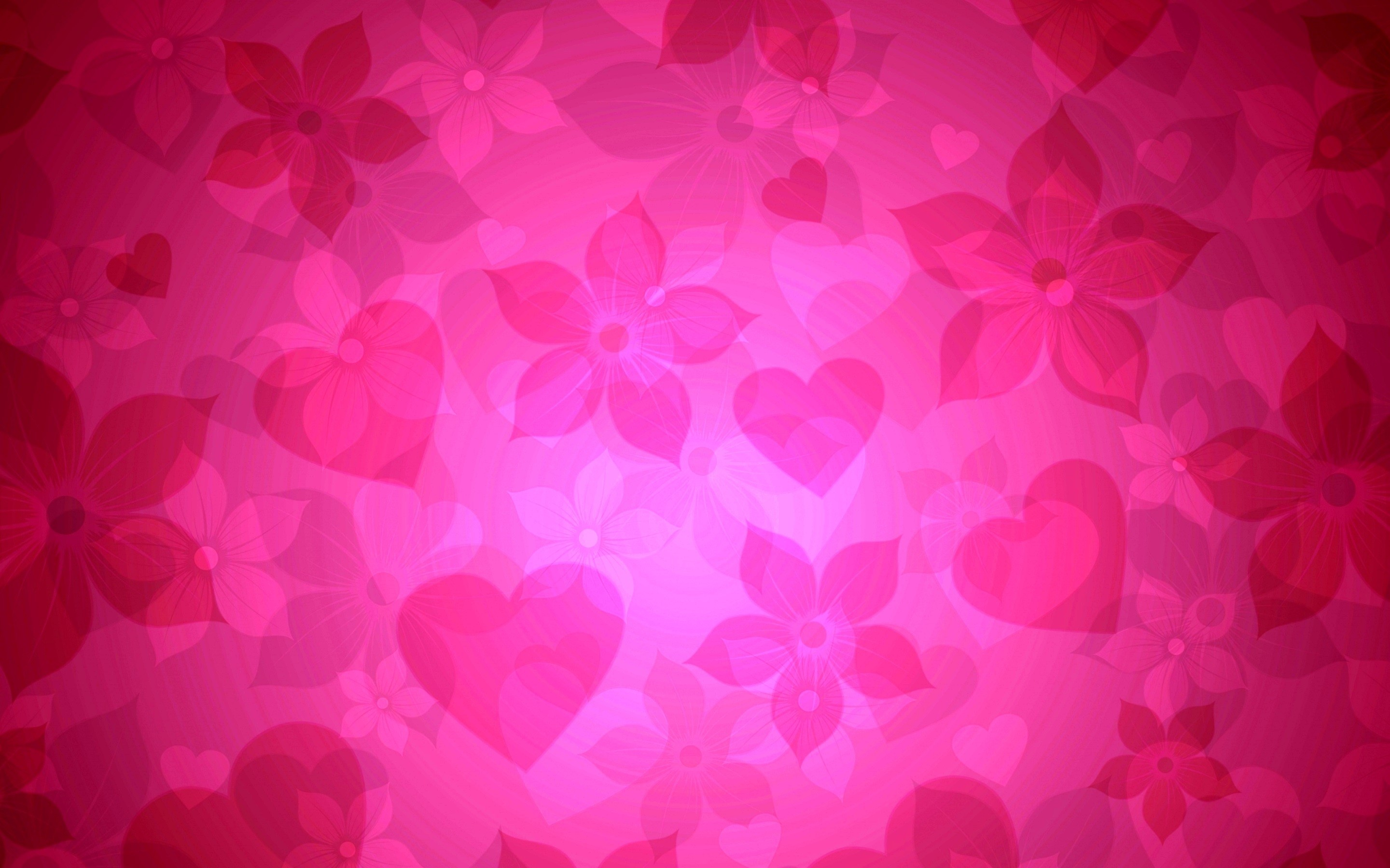 Res: 2880x1800, pink heart background wallpaper