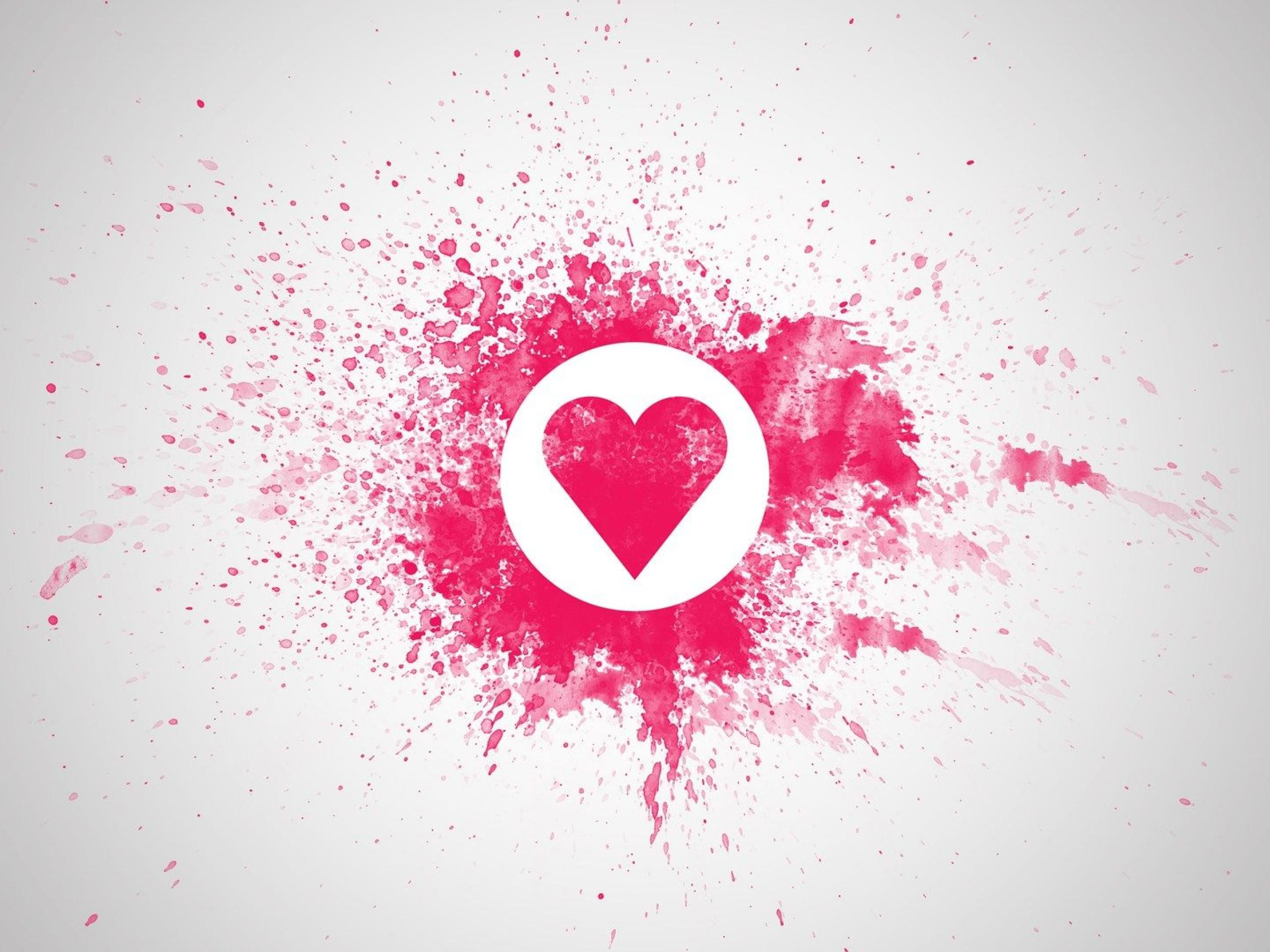 Res: 2560x1920, Heart Love Pink Wallpapers PX ~ Pink Heart Wallpaper #106448