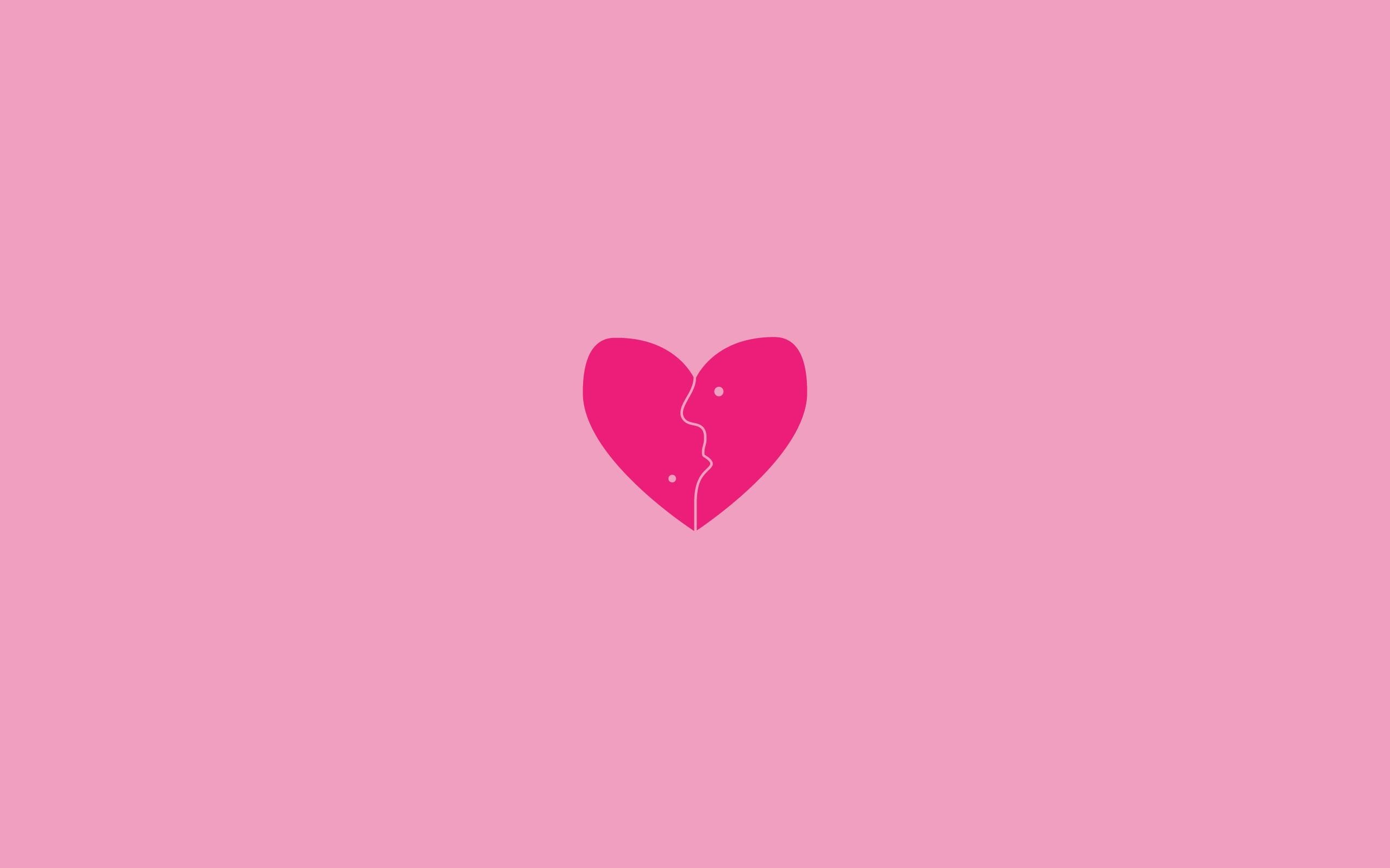 Res: 2560x1600, pink-heart-wallpaper--for-windows-WTG308206