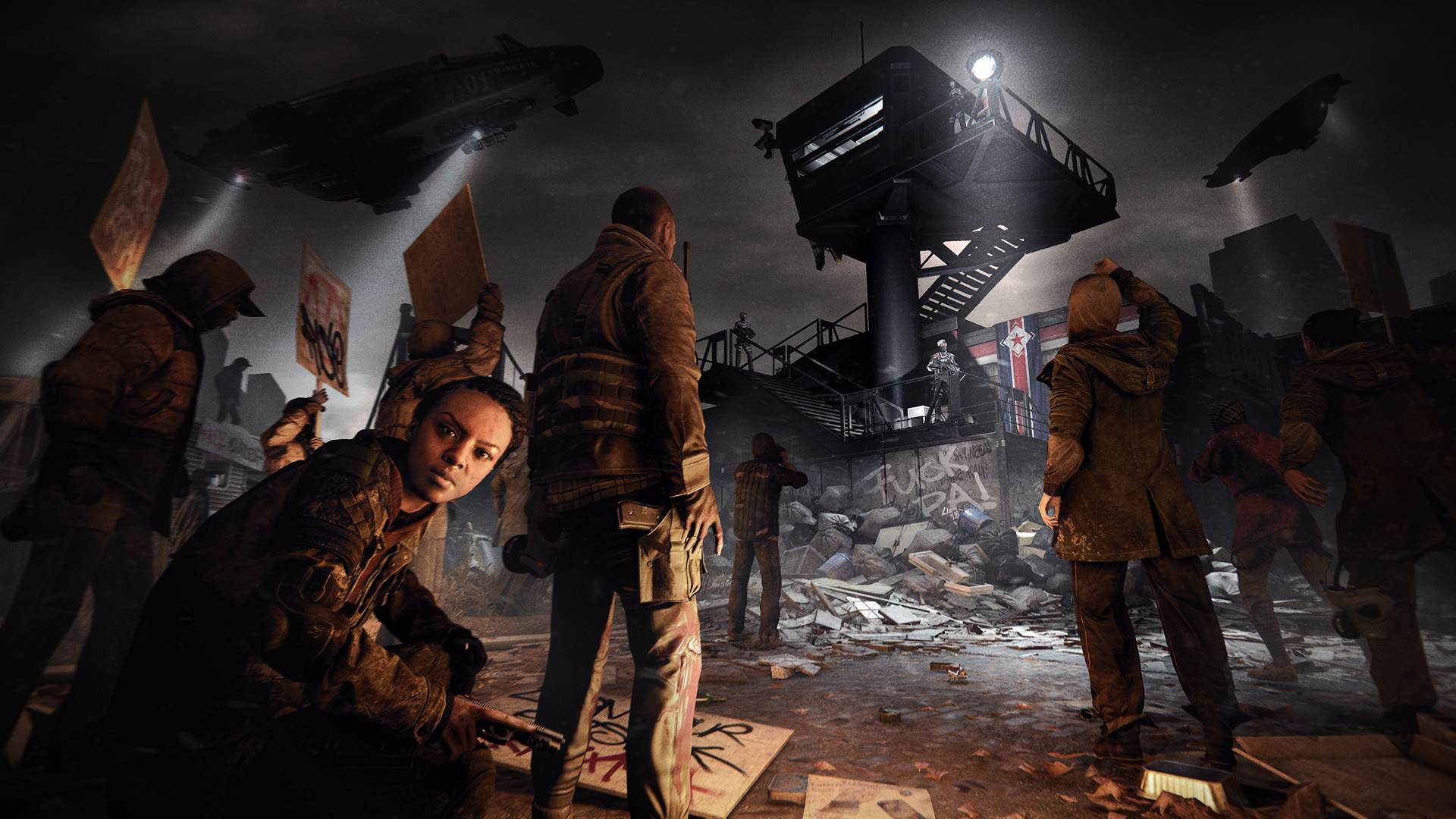 Res: 1920x1080, Crytek & Deep Silver Announce Homefront: The Revolution, Prepare To Fight  The Second American Revolution - n3rdabl3