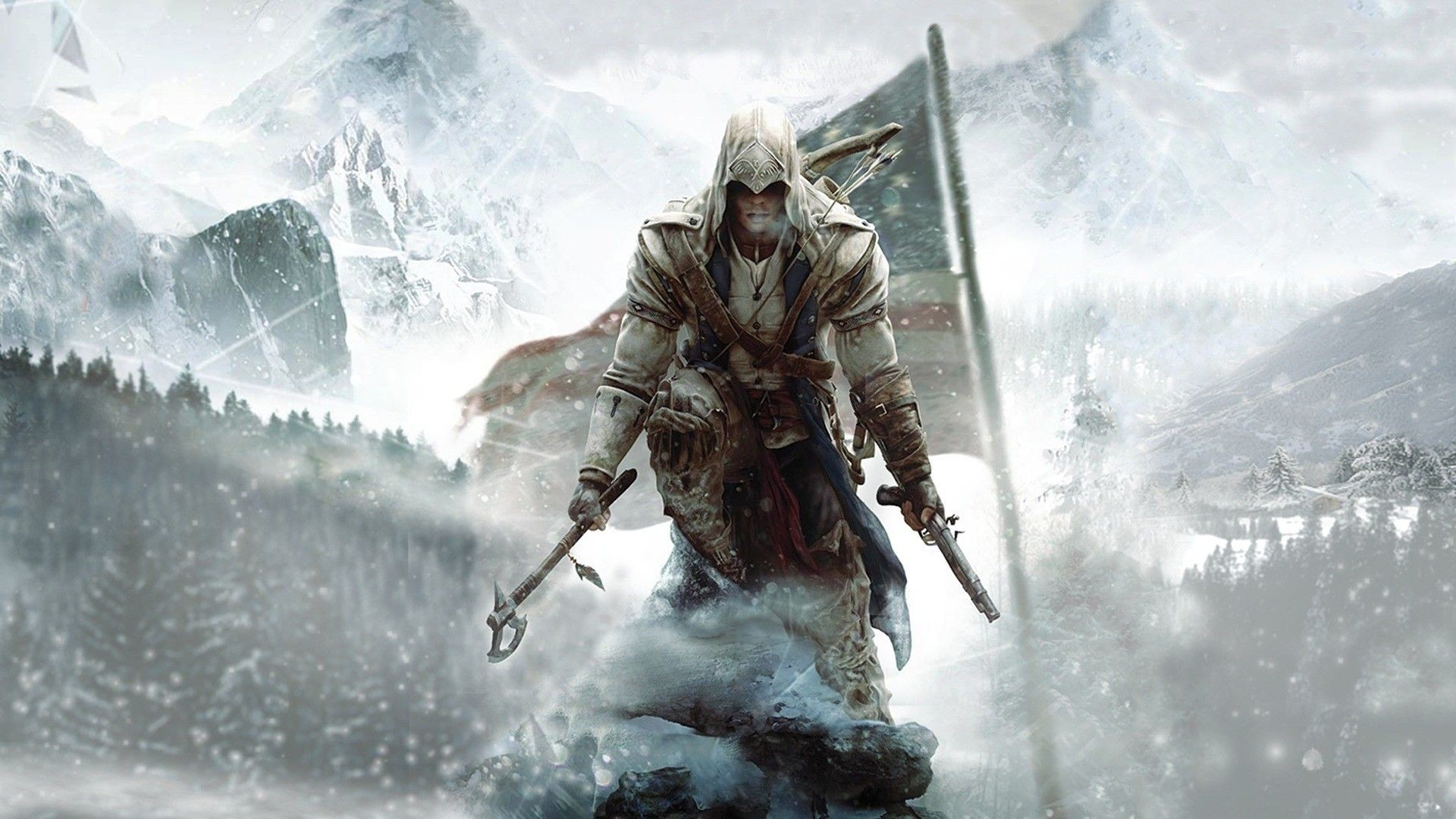 "Res: 1920x1080, Connor Kenway "" ..."