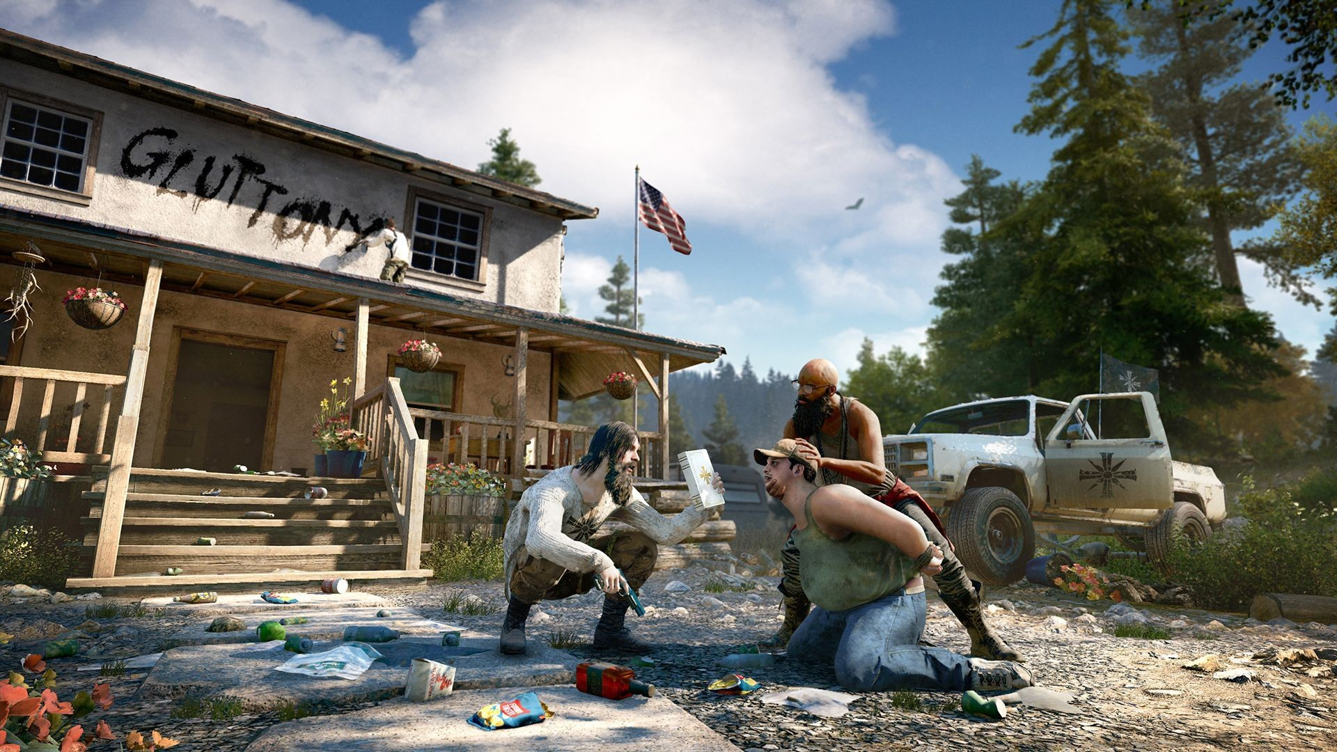 Res: 1920x1080, Far Cry 5 Preview -- American Revolution (PlayStation 4 Pro)