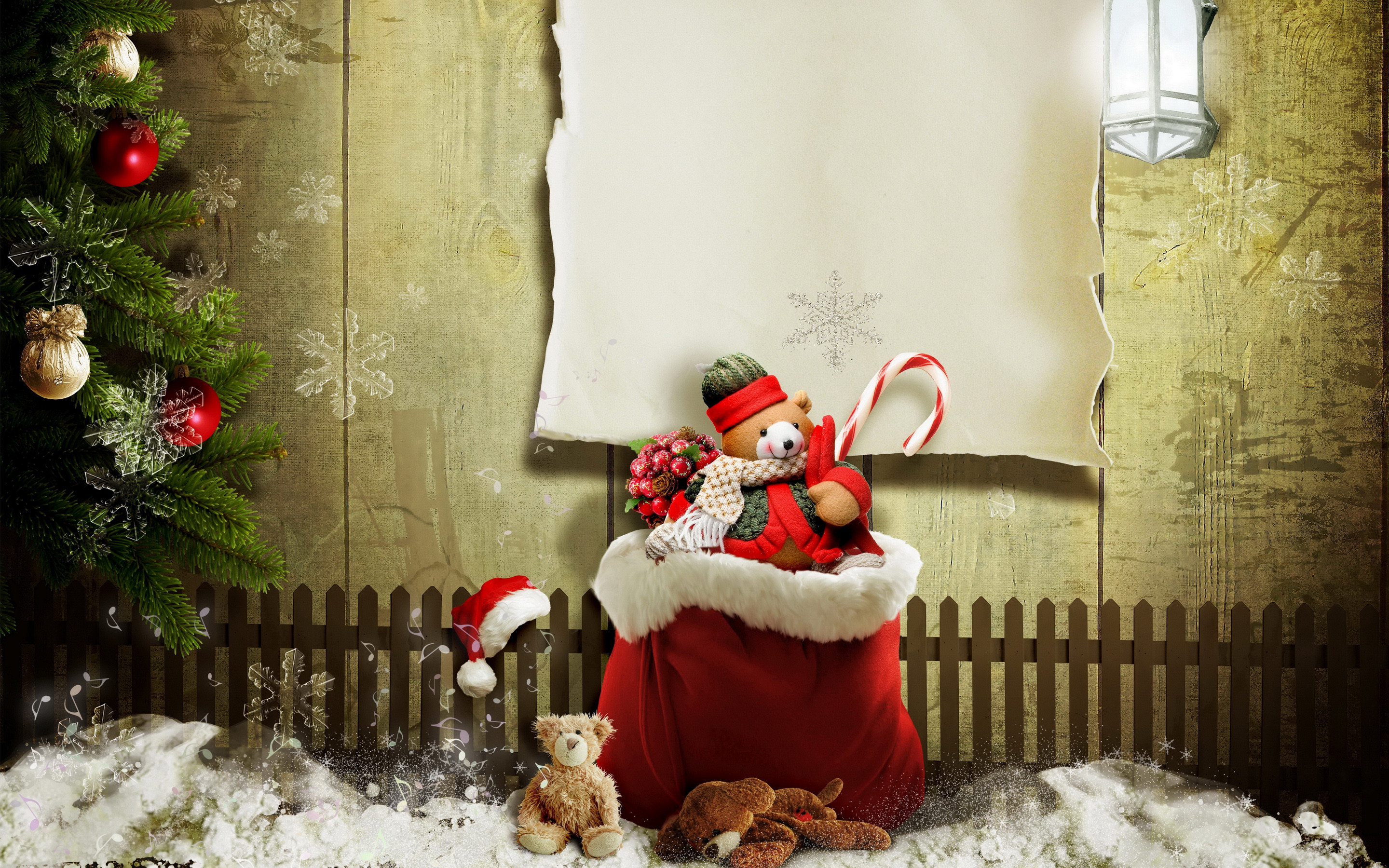 Res: 2880x1800, Christmas Presents Gifts Wallpaper