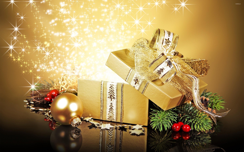 Res: 2880x1800, Christmas present wallpaper
