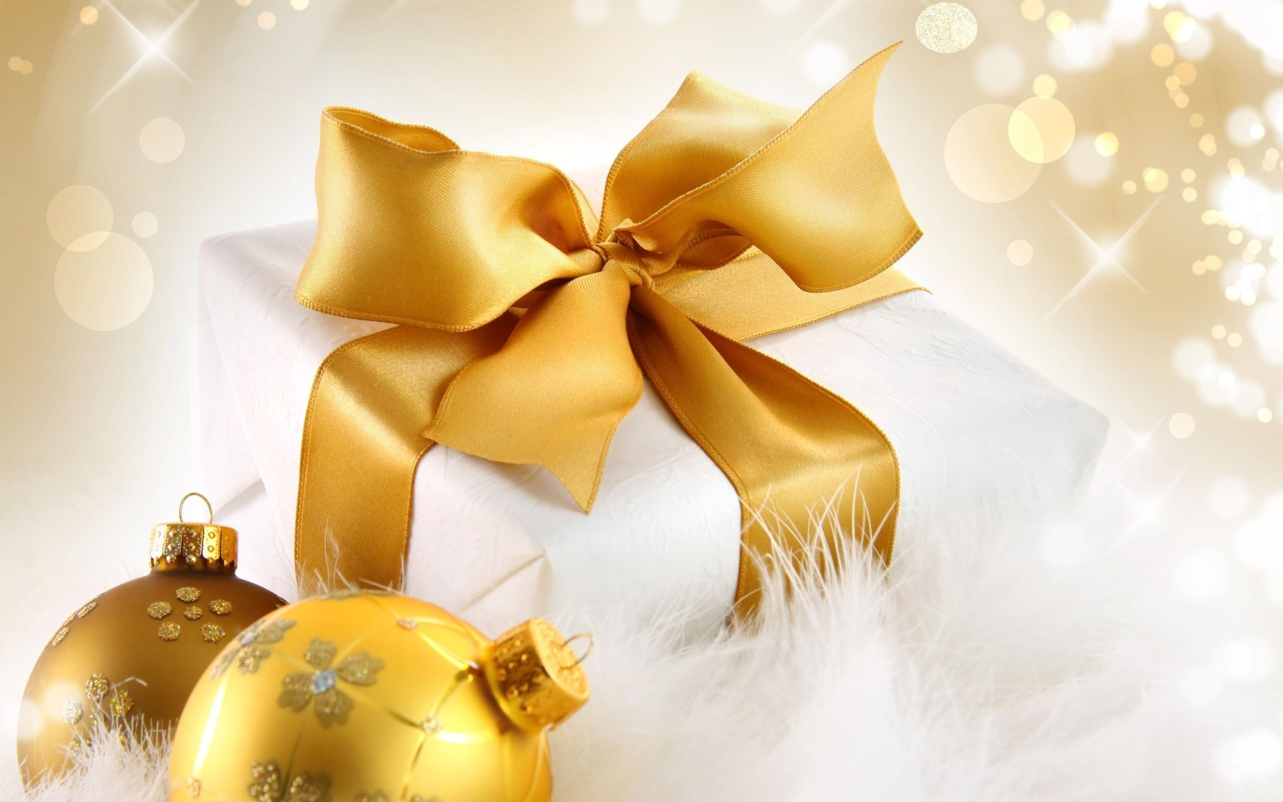 Res: 2560x1600, Christmas Gifts Backgrounds