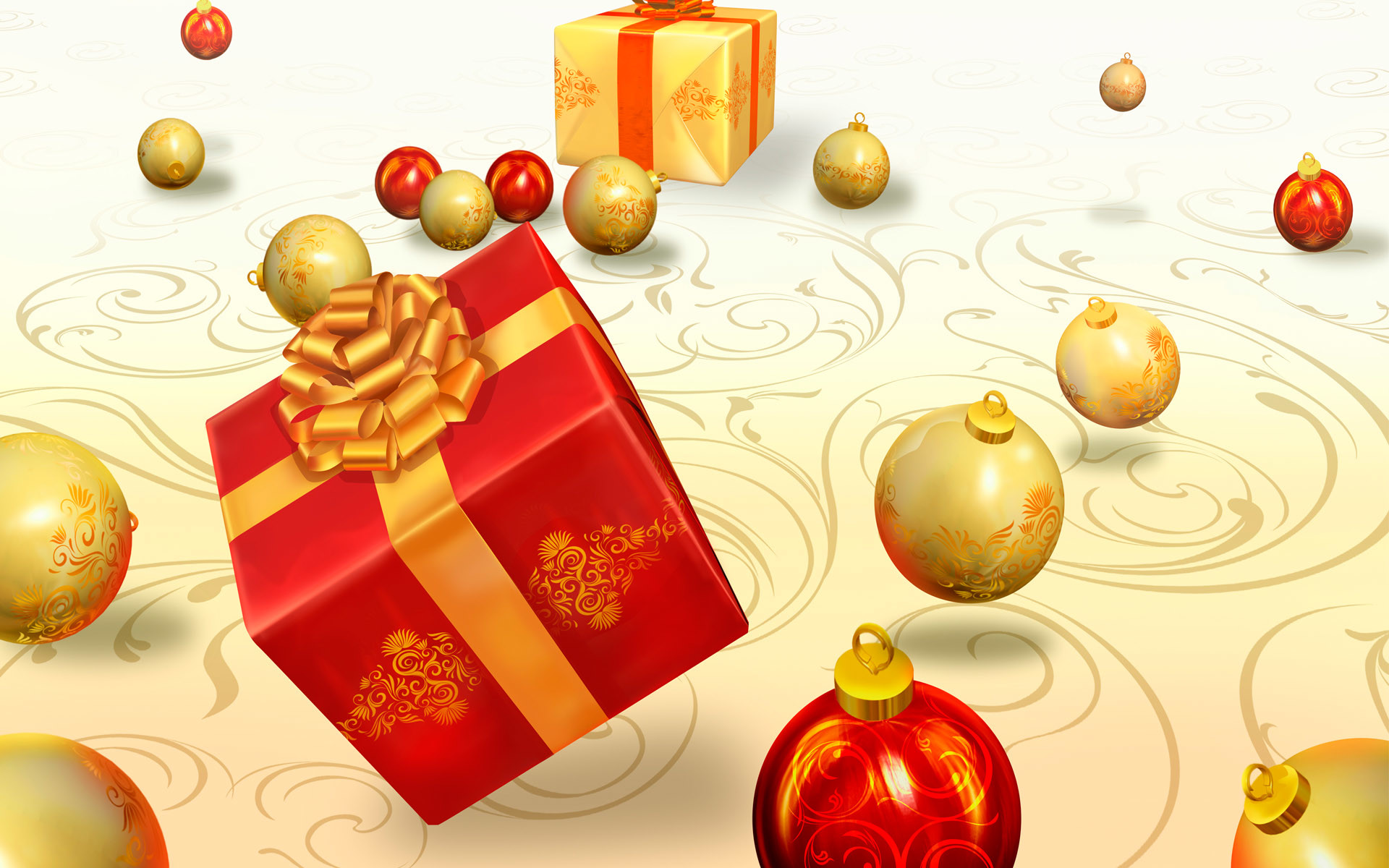 Res: 1920x1200, Christmas Gifts Wallpaper