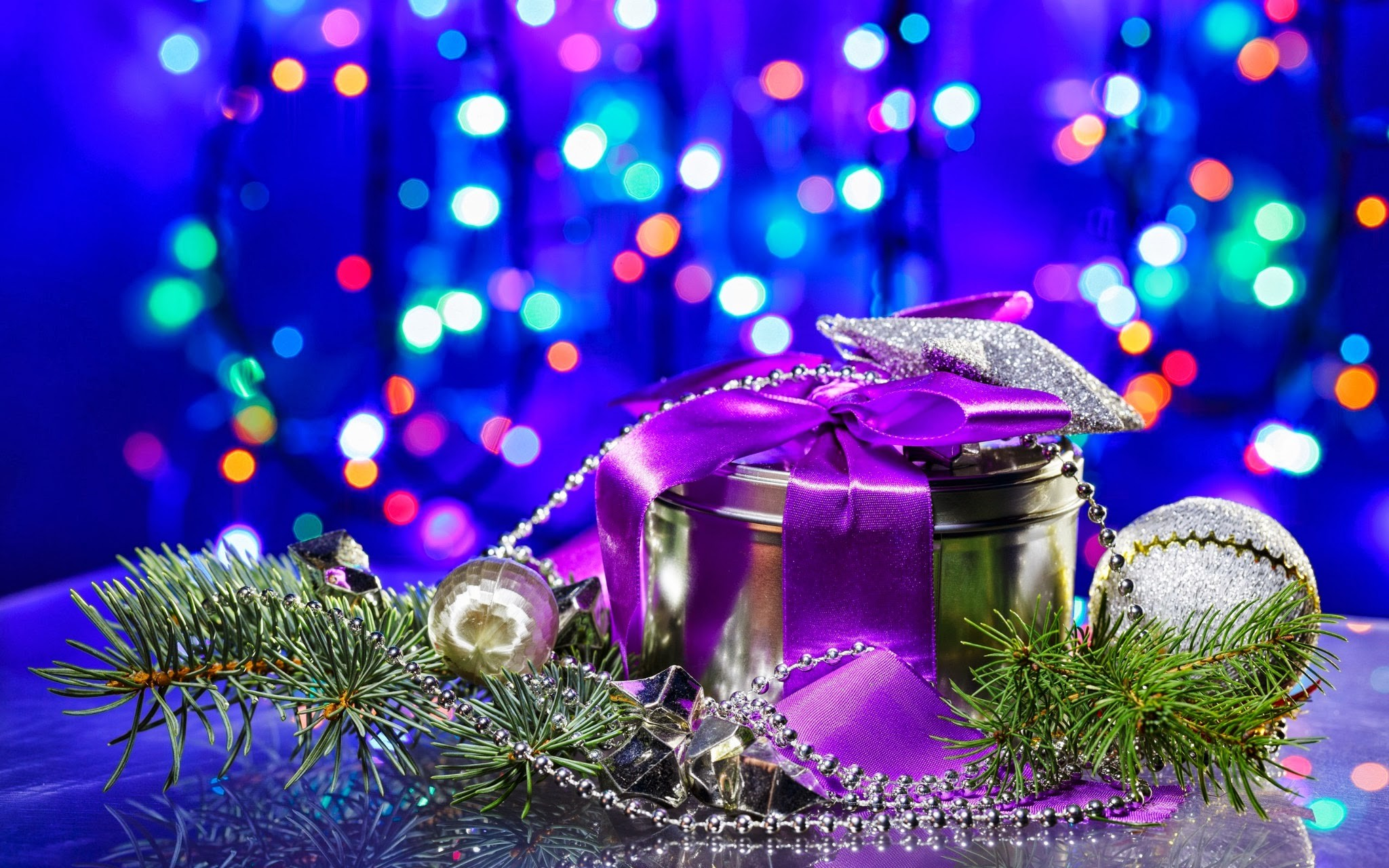 Res: 2048x1280, Luxury Christmas Gifts Wallpaper HD Wallpaper