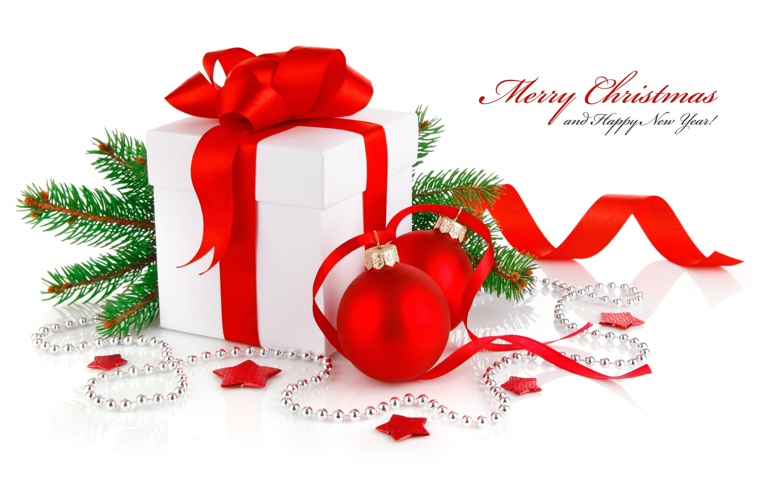 Res: 2560x1600, Merry Christmas Gifts Wallpaper Quotes Wallpaper