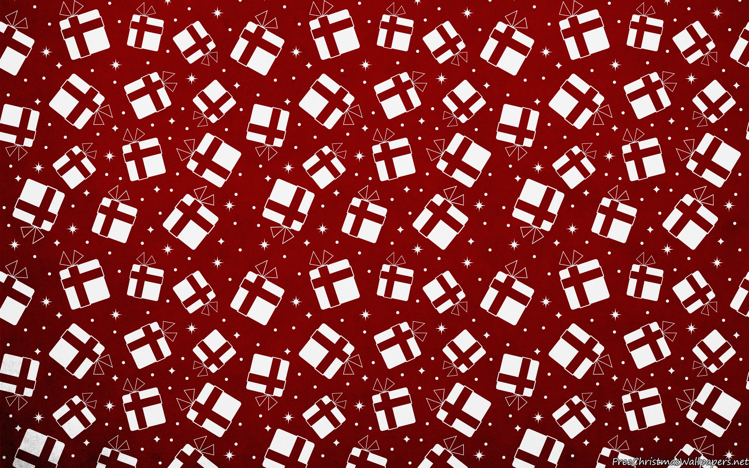 Res: 2560x1600, Christmas Gifts Background Pattern