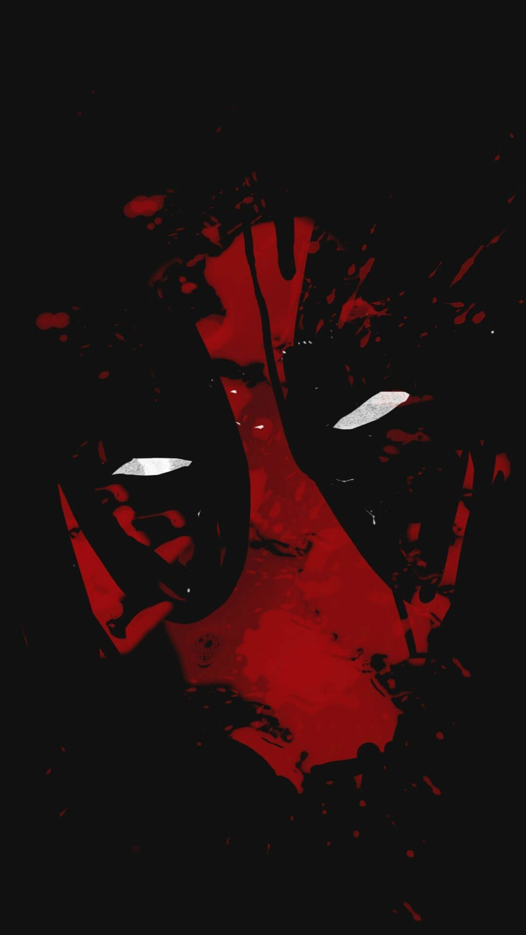 Res: 1080x1920, Deadpool mask
