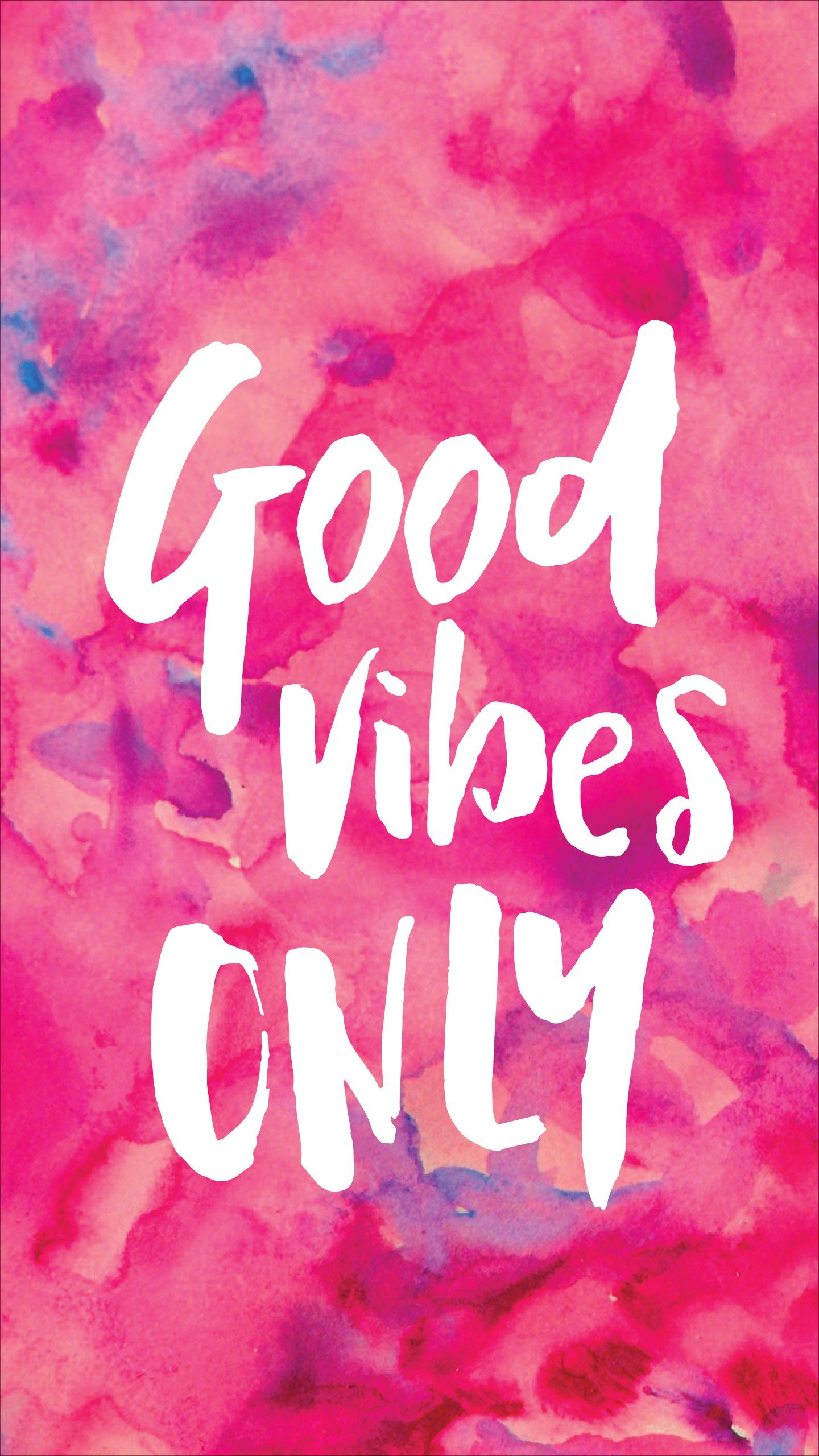 Res: 1440x2560, Good Vibes Only Wallpaper