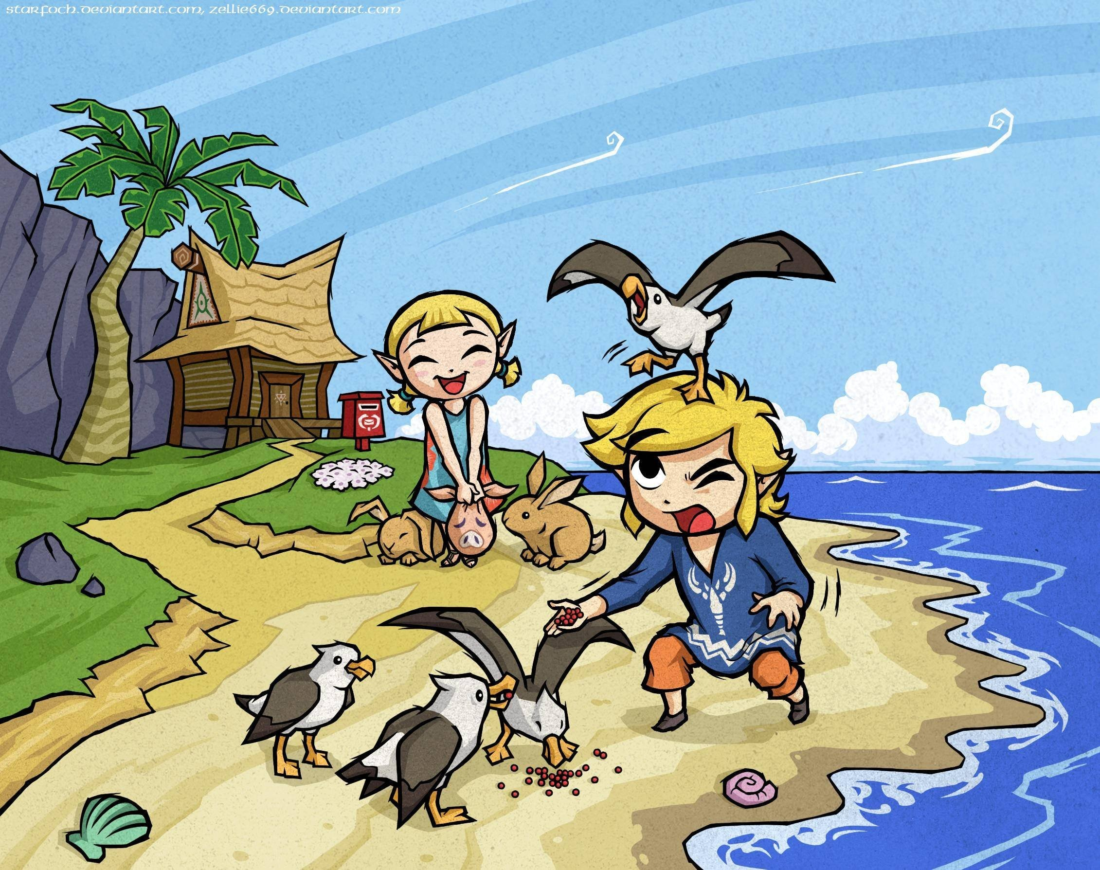 Wind Waker Wallpapers Hd Wallpaper Collections 4kwallpaper Wiki