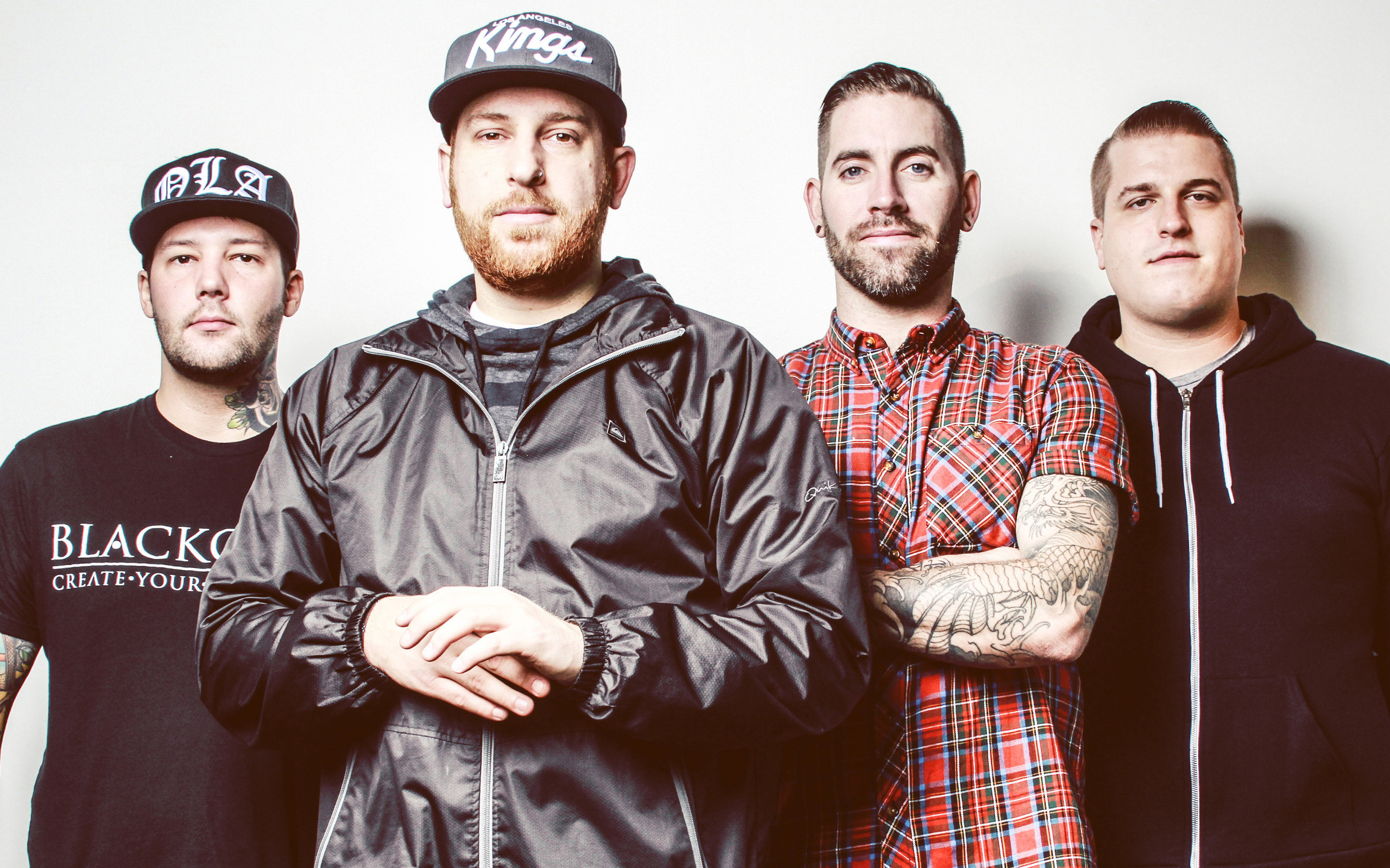 Res: 2560x1600, The Ghost Inside, Music Band, Metalcore, Punk, Zach Johnson, Jim Riley