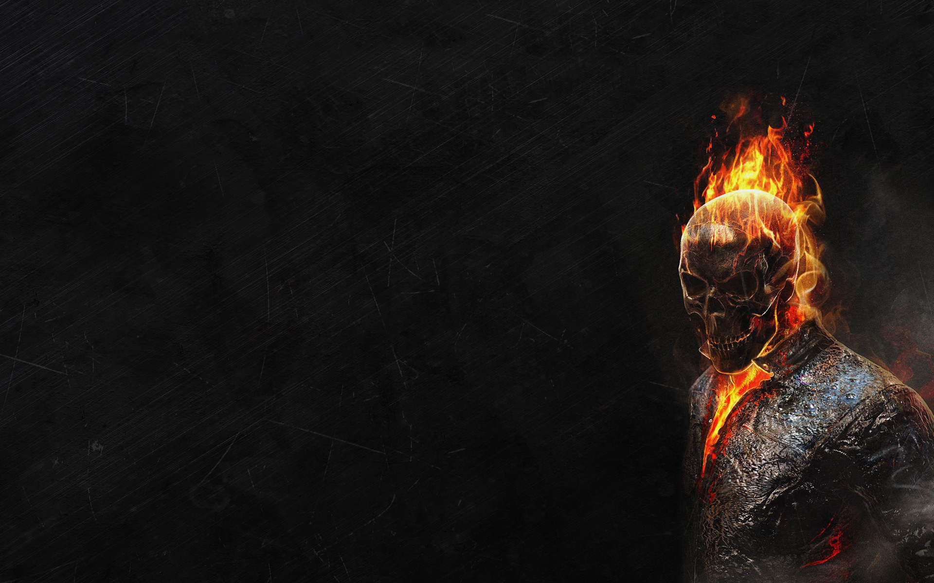 Res: 1920x1200, Ghost and Fire Wallpaper for Android