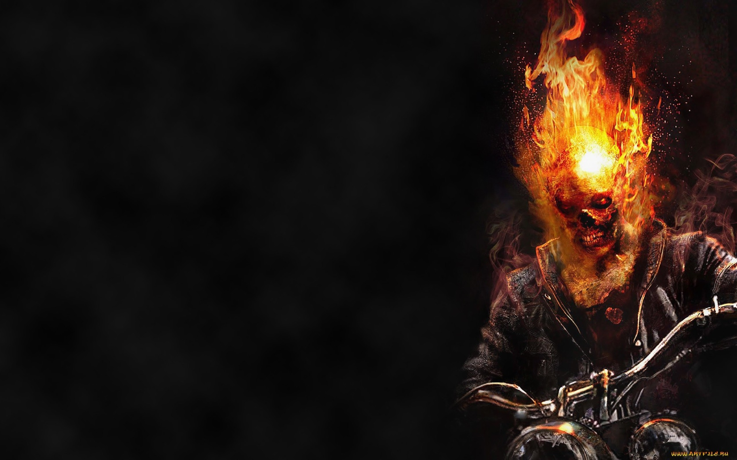 Res: 2560x1600, Ghost rider The Ghost Rider Wallpaper 36926458